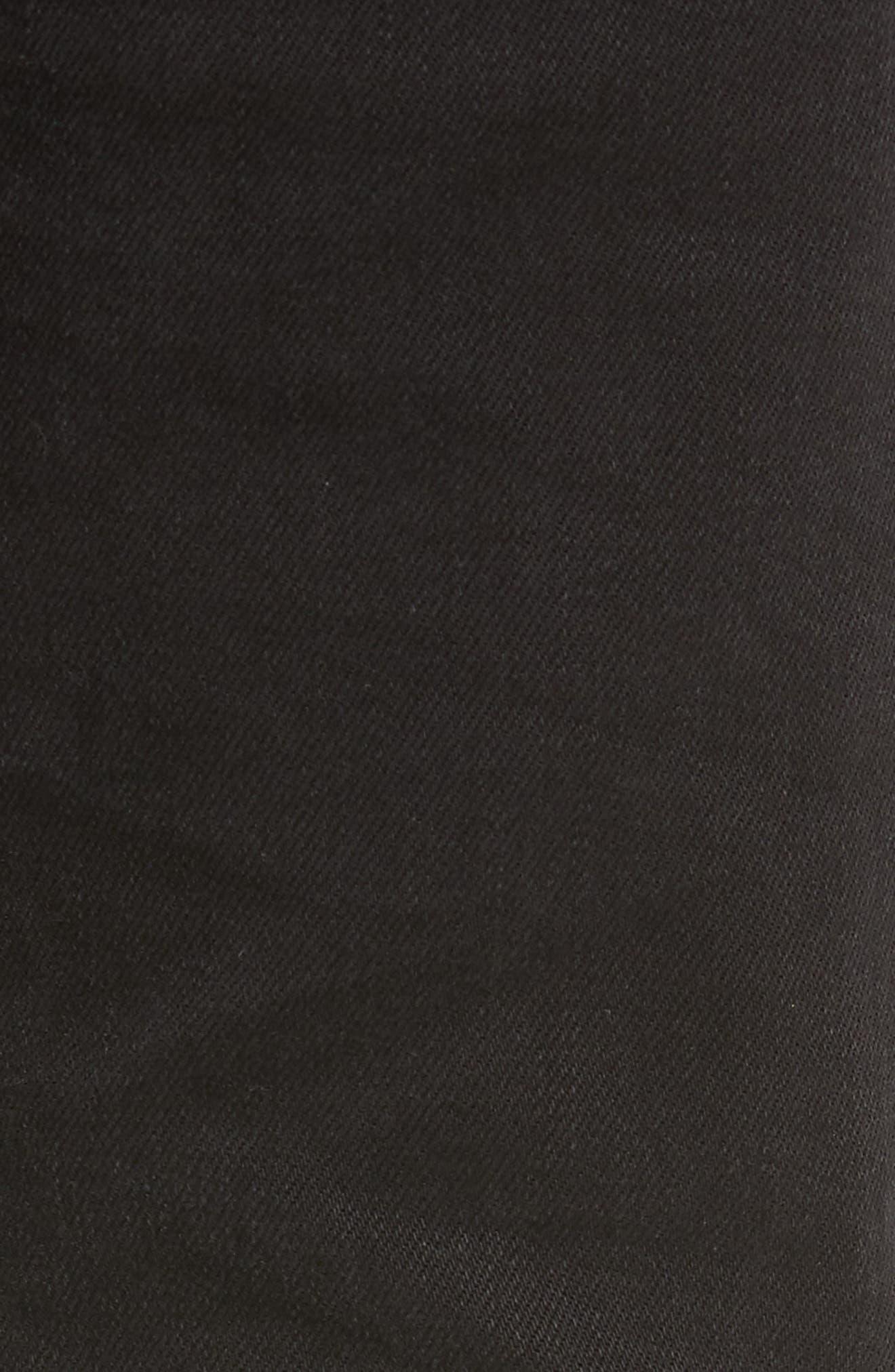 Joe Blow Slim Fit Jeans,                             Alternate thumbnail 5, color,                             BUSTED BLACK