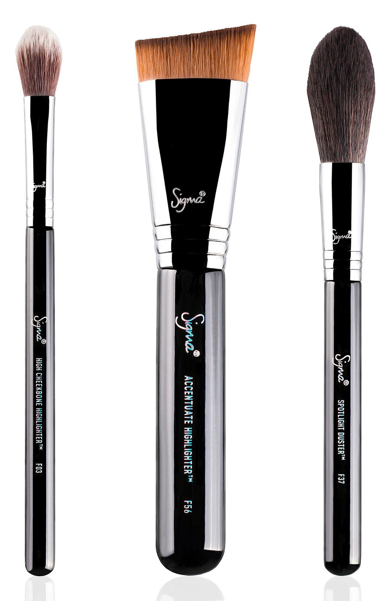 Highlight Expert Brush Set,                         Main,                         color, 000