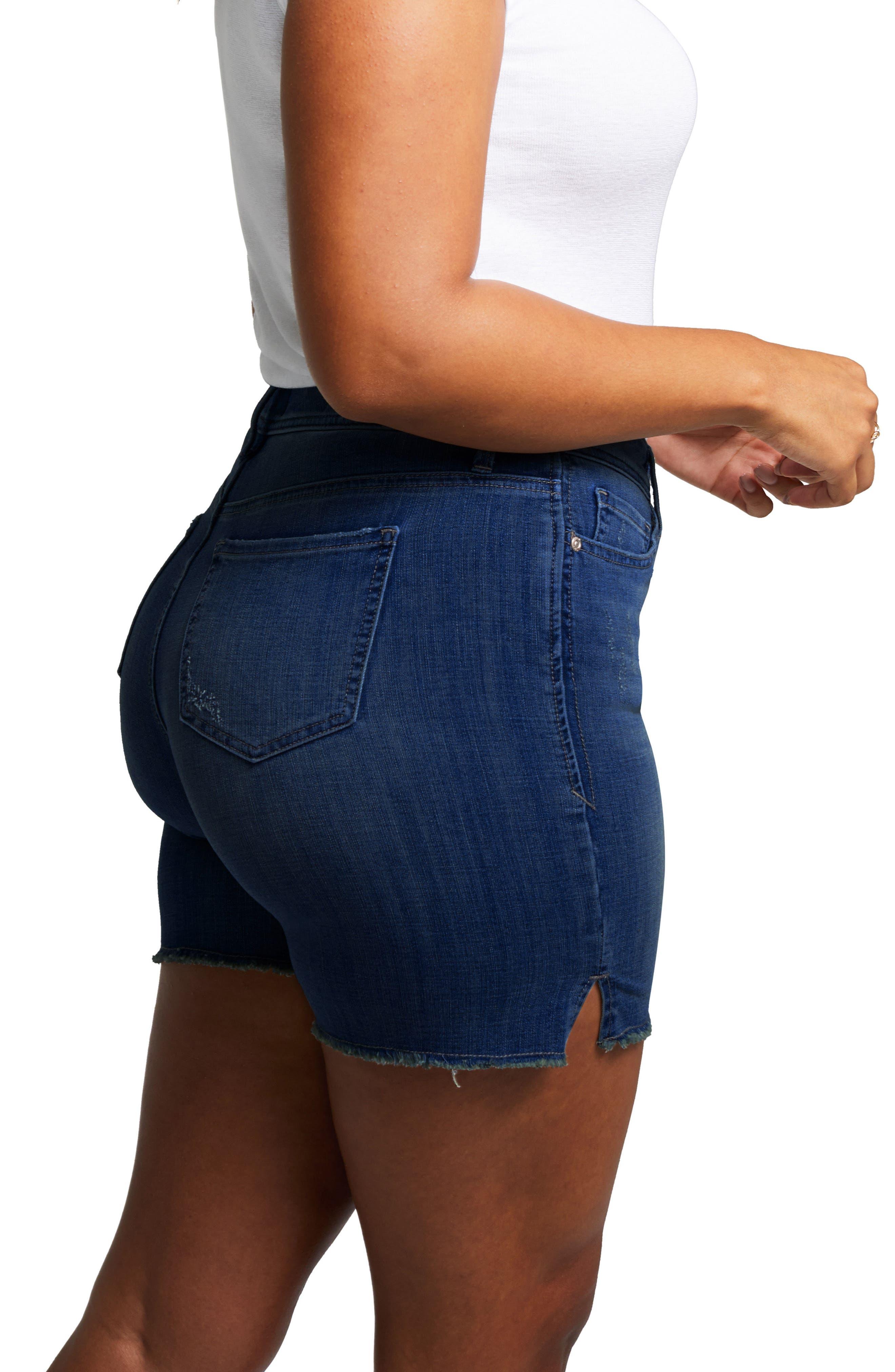 Shape Slim Straight Shorts,                             Alternate thumbnail 3, color,                             414