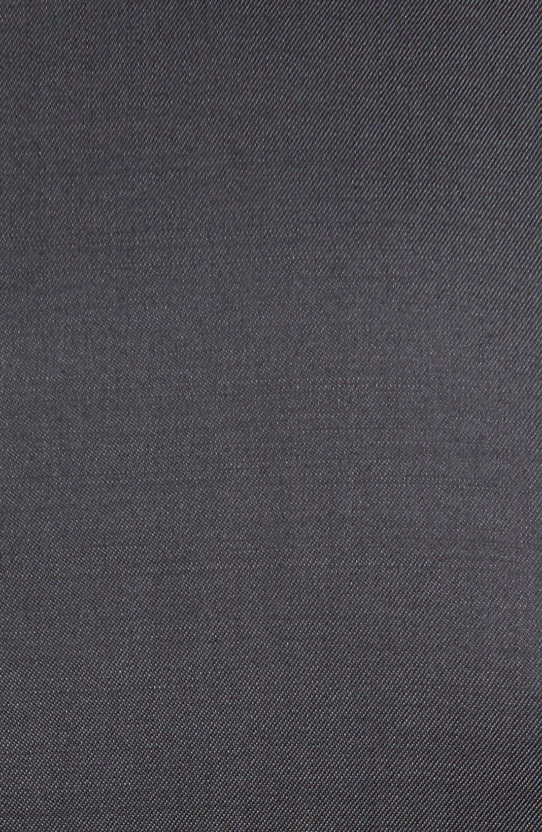 Trim Fit Solid Wool Suit,                             Alternate thumbnail 5, color,                             022