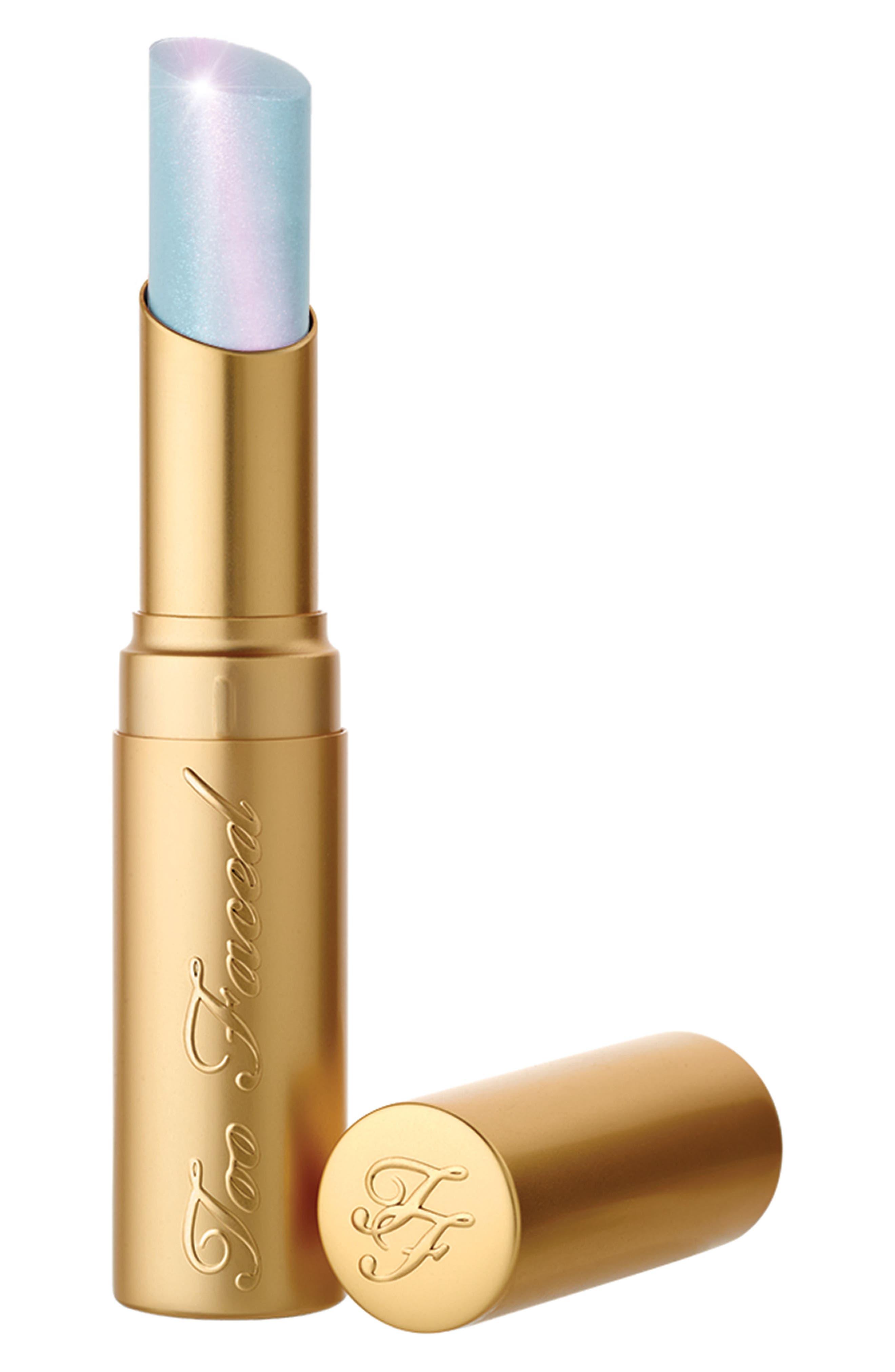 La Crème Mystical Effects Lipstick,                             Main thumbnail 1, color,                             UNICORN TEARS