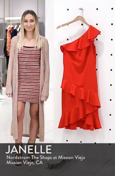 One-Shoulder Ruffle Dress, sales video thumbnail