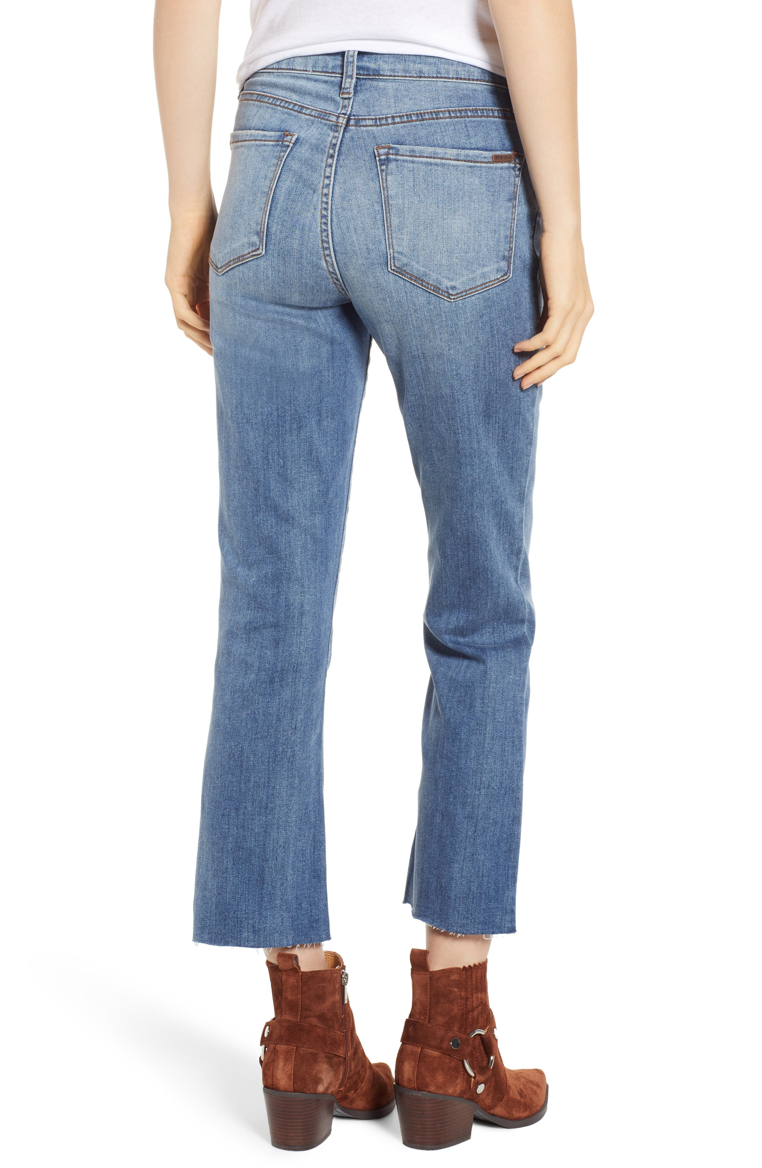 STS Blue Brooke Crop Flare Jeans,                             Alternate thumbnail 2, color,                             TOPAZ