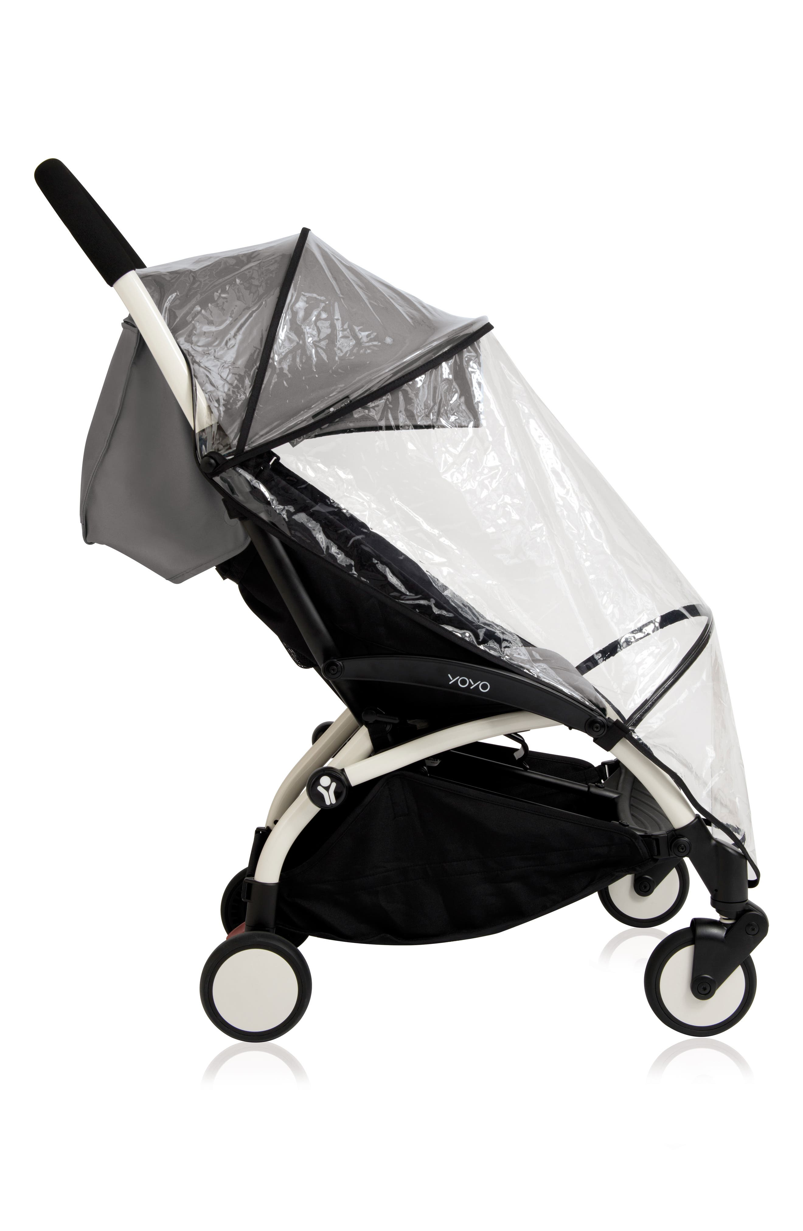 BABYZEN<SUP>™</SUP>,                             Rain Cover for YOYO+ 6 Stroller,                             Alternate thumbnail 2, color,                             CLEAR