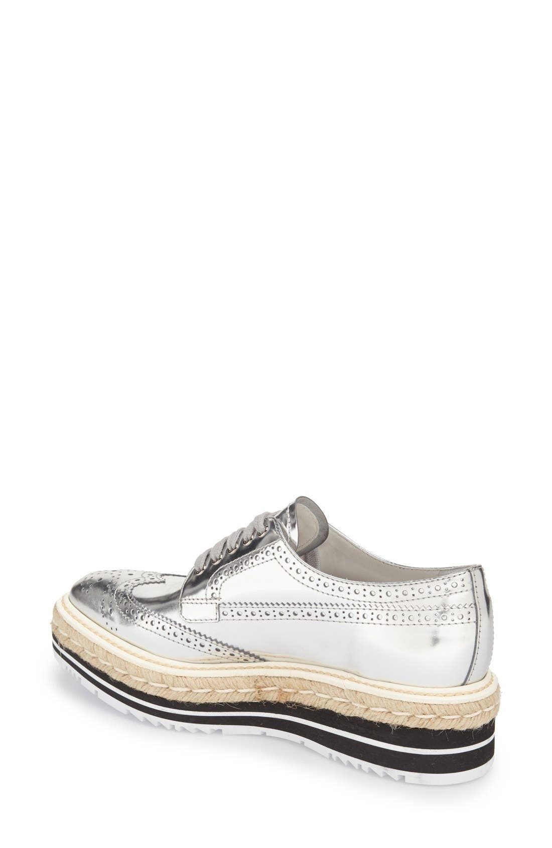 Microsole Espadrille Oxford,                             Alternate thumbnail 8, color,