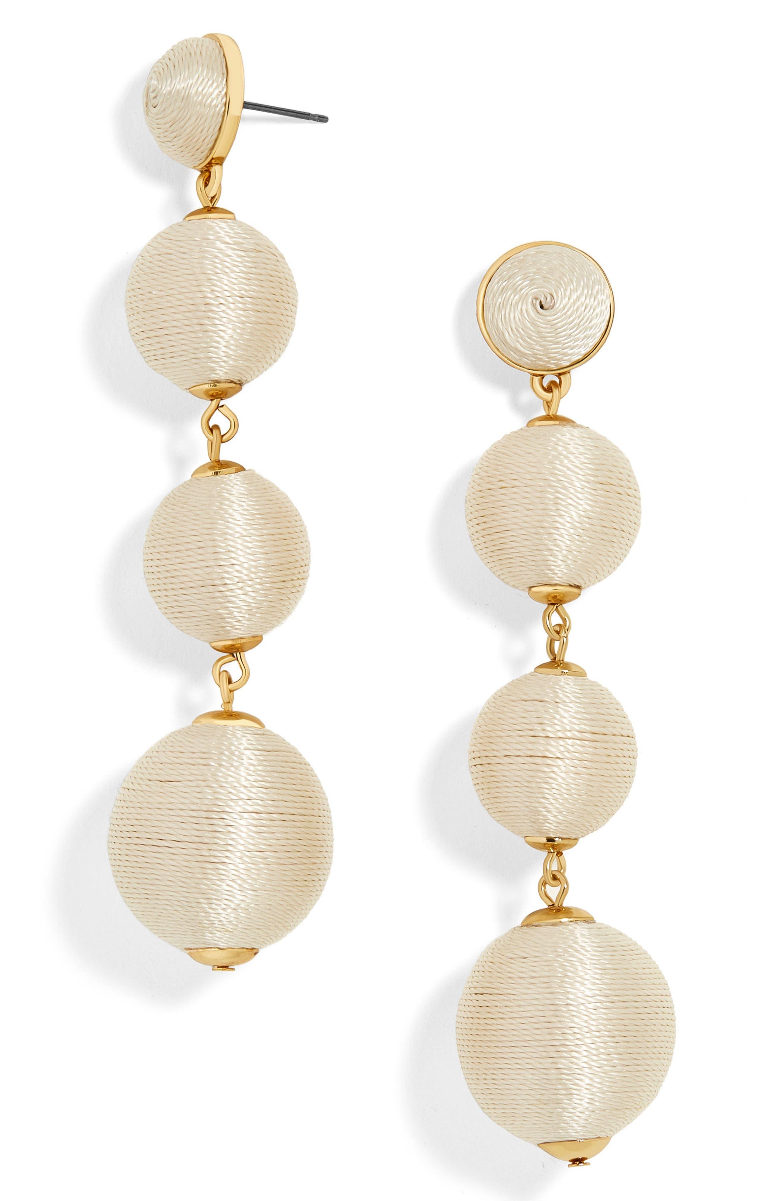 Criselda Ball Shoulder Duster Earrings,                             Main thumbnail 2, color,
