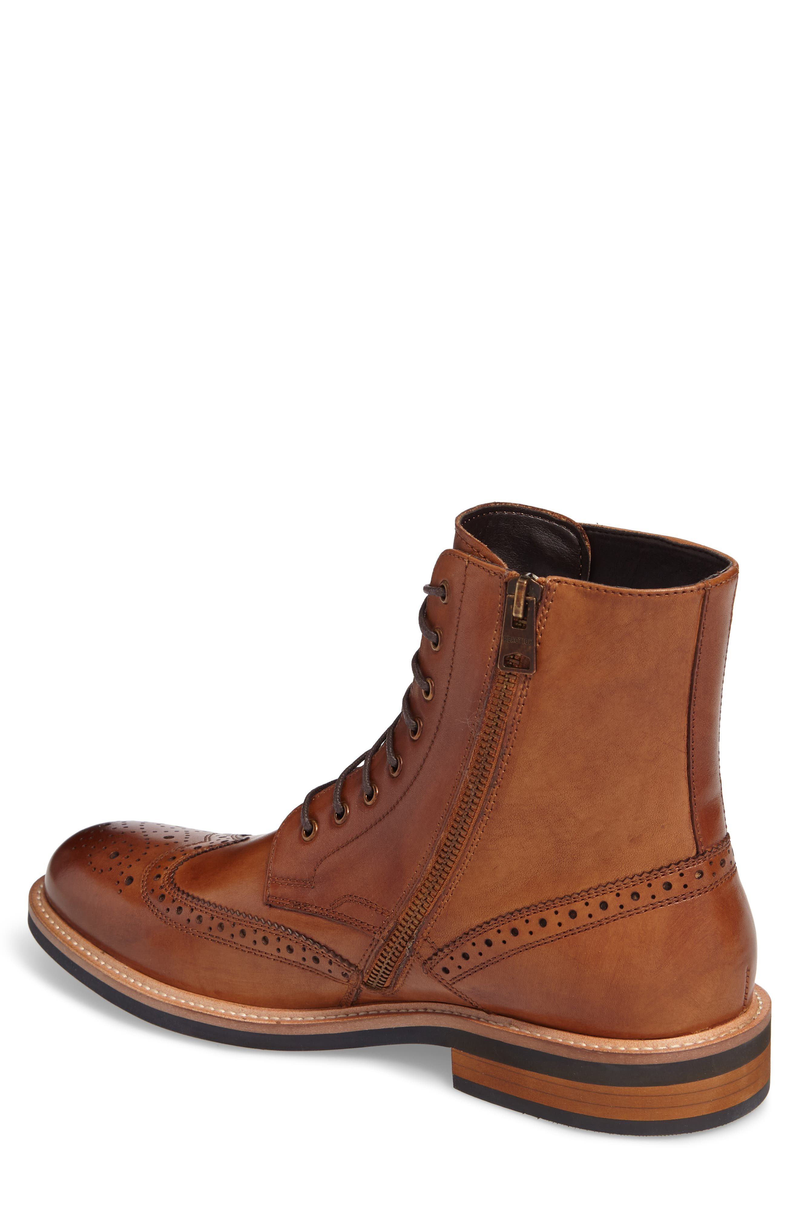 Kenneth Cole Reaction Wingtip Boot,                             Alternate thumbnail 2, color,