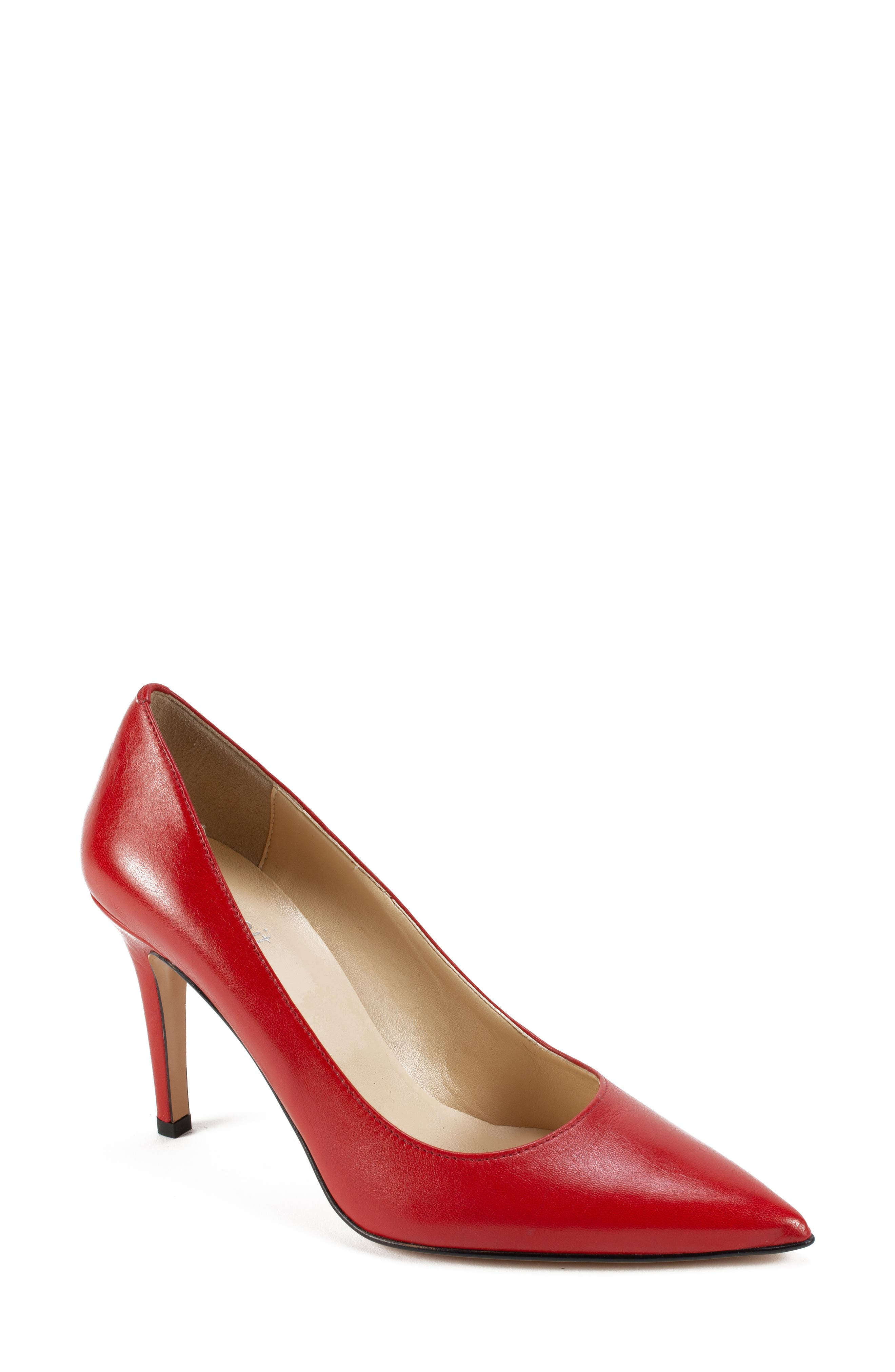 Summit By White Mountain Melissa Pointy Toe Pump Red