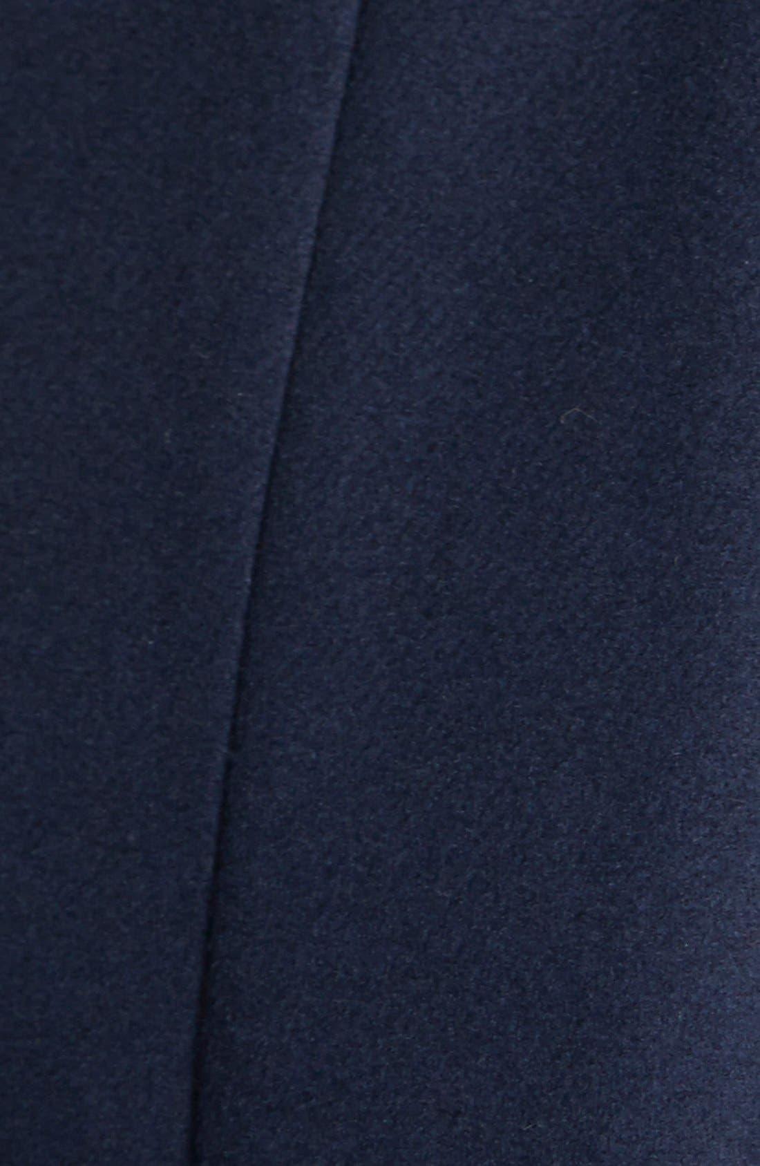 'New Jane' Wool & Alpaca Blend Trim Wrap Coat,                             Alternate thumbnail 2, color,                             410