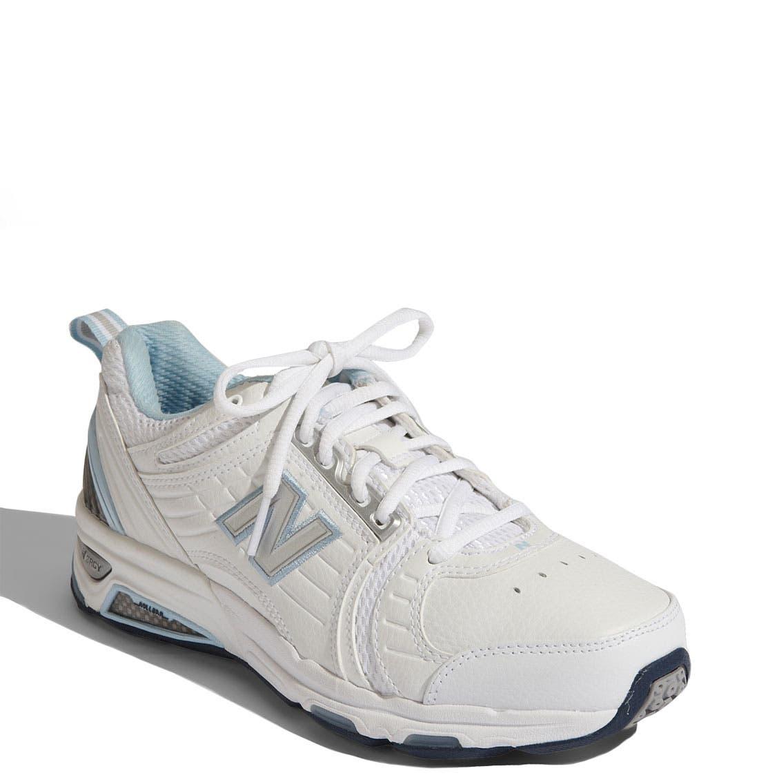 NEW BALANCE,                             '856' Training Shoe,                             Main thumbnail 1, color,                             110