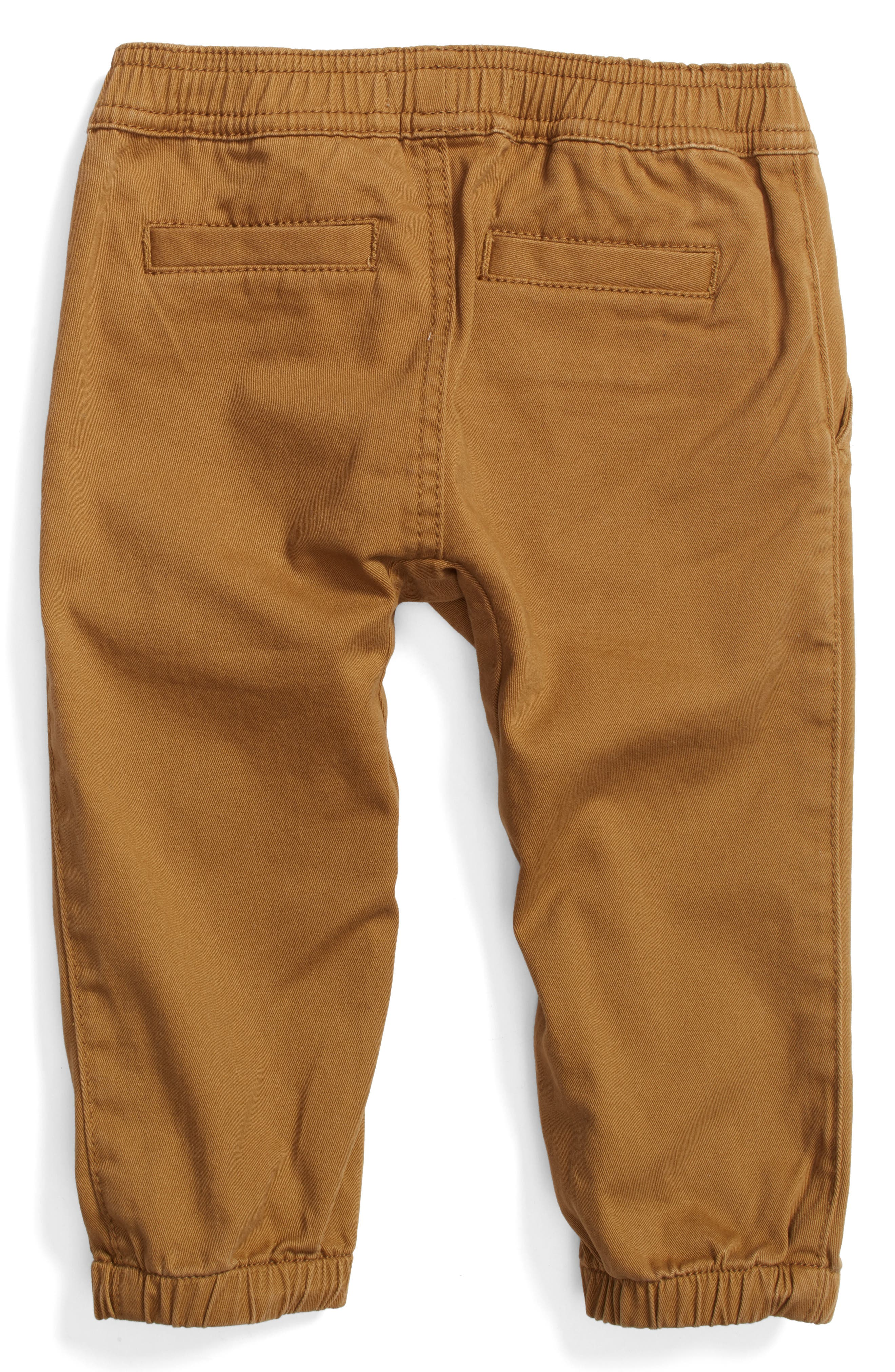 Twill Jogger Pants,                             Alternate thumbnail 4, color,