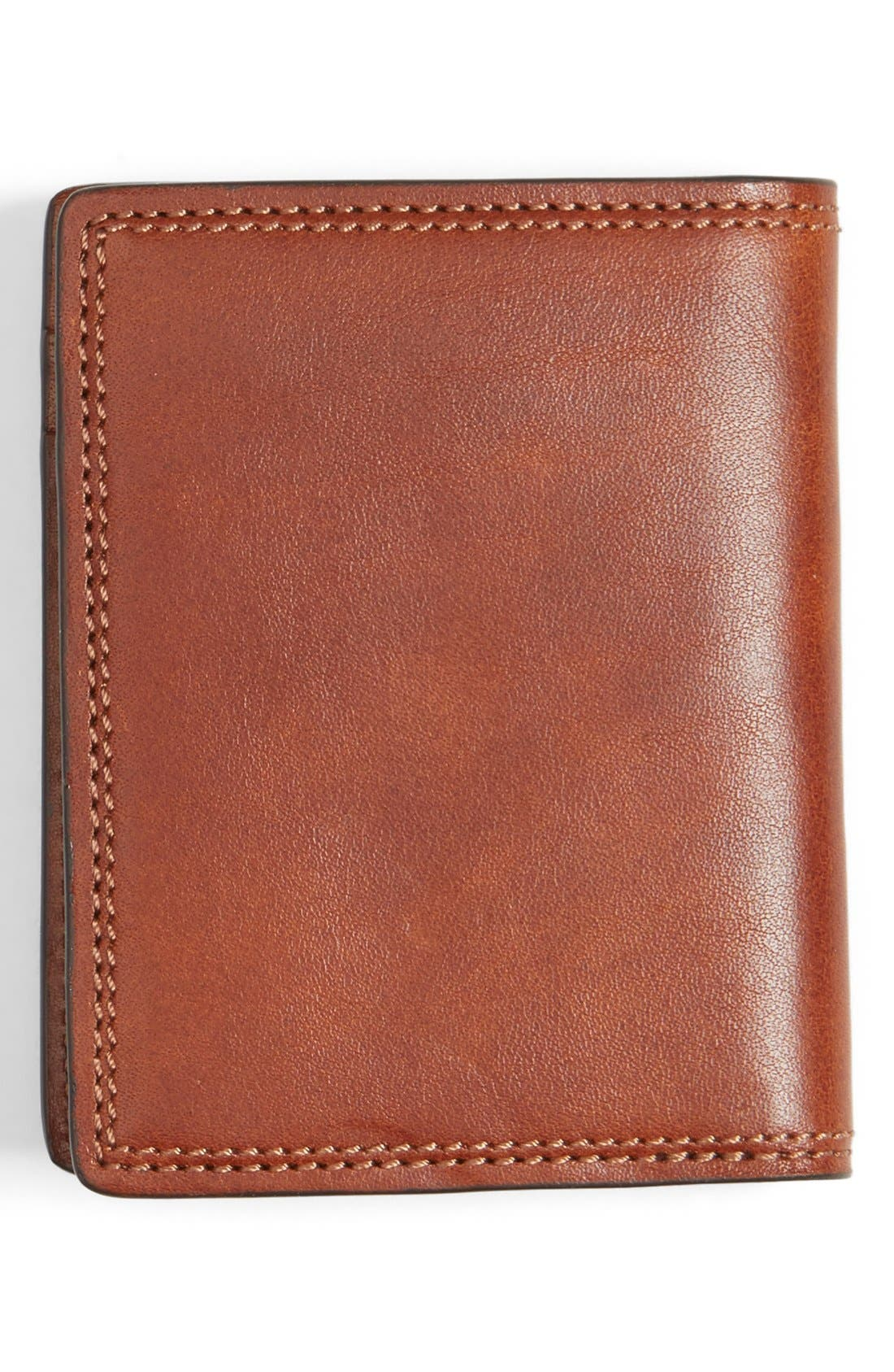 Leather Front Pocket Money Clip Wallet,                             Alternate thumbnail 2, color,                             233