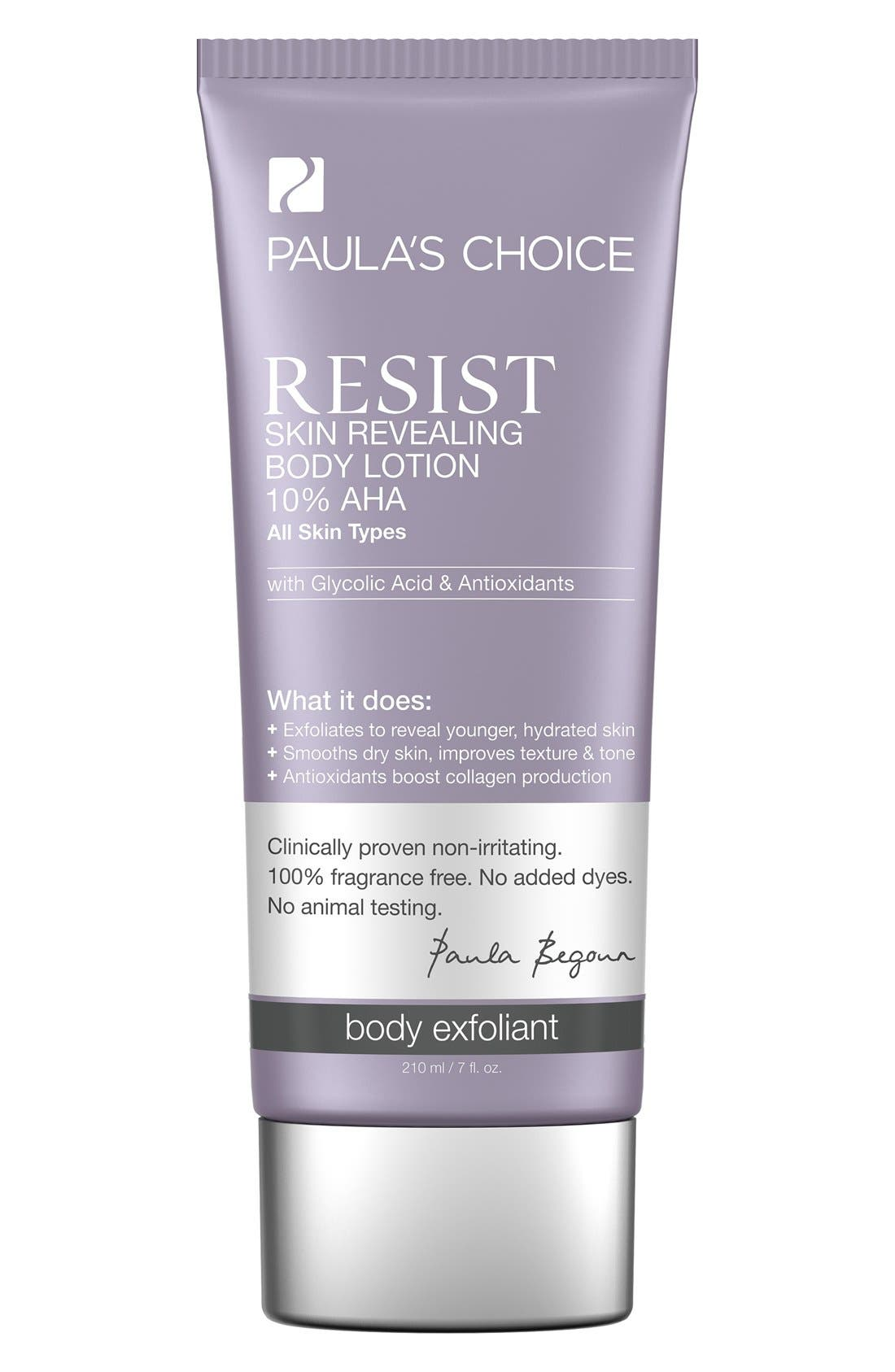 Resist Skin Revealing Body Lotion 10% AHA,                         Main,                         color, NO COLOR