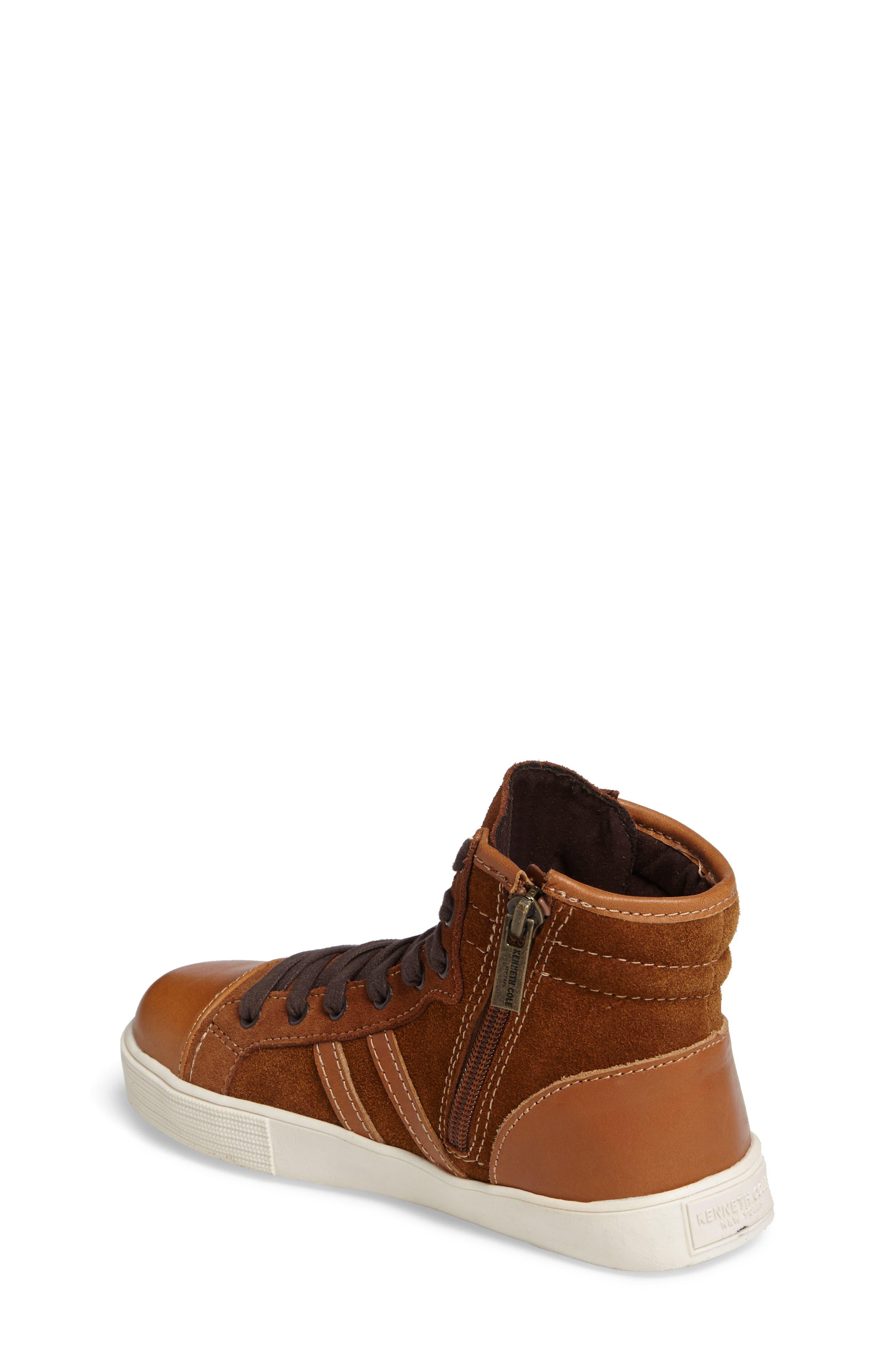 Jay Top High-Top Zip Sneaker,                             Alternate thumbnail 2, color,                             205