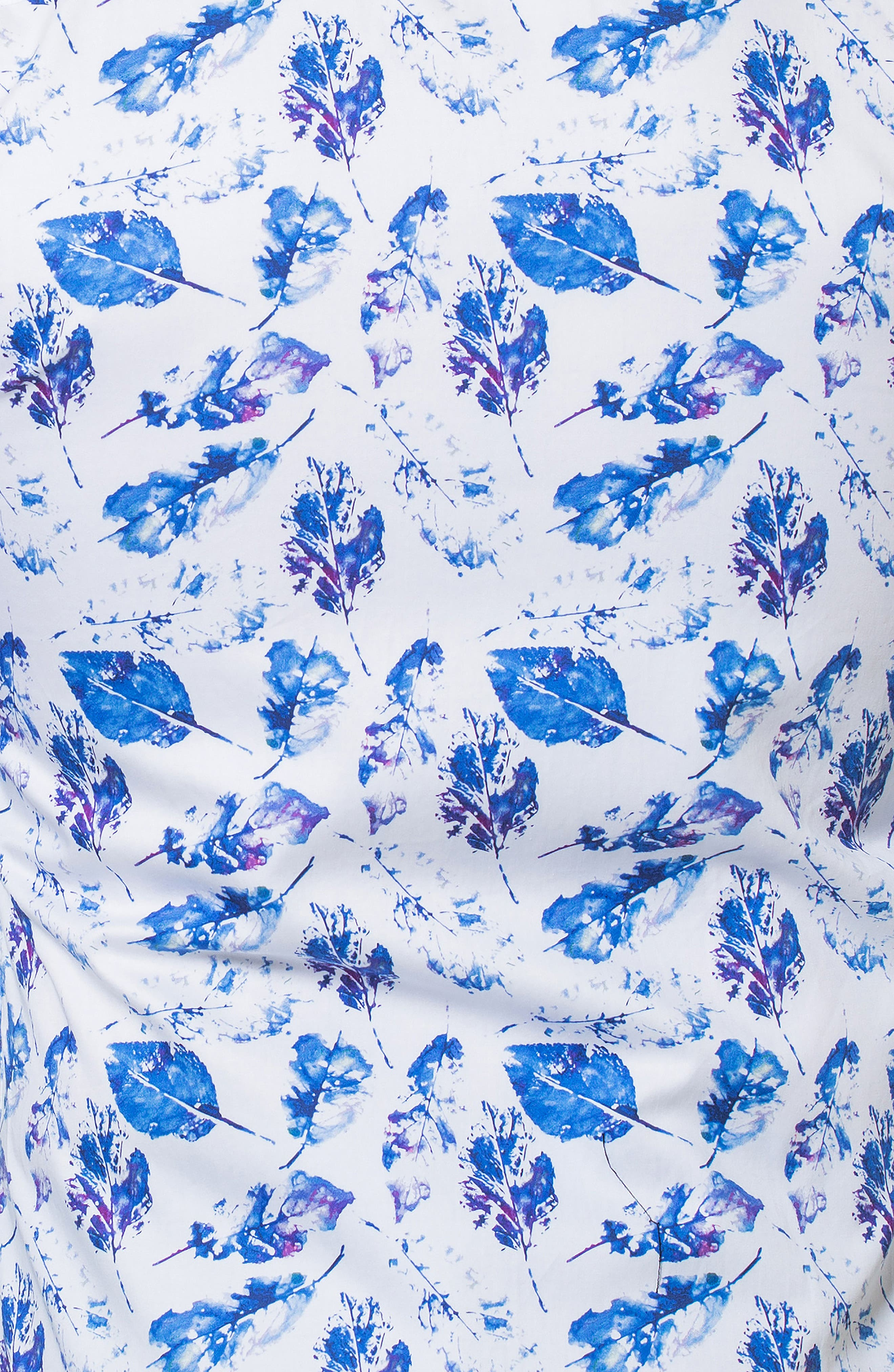 Luxor Peaceful Slim Fit Sport Shirt,                             Alternate thumbnail 3, color,                             WHITE