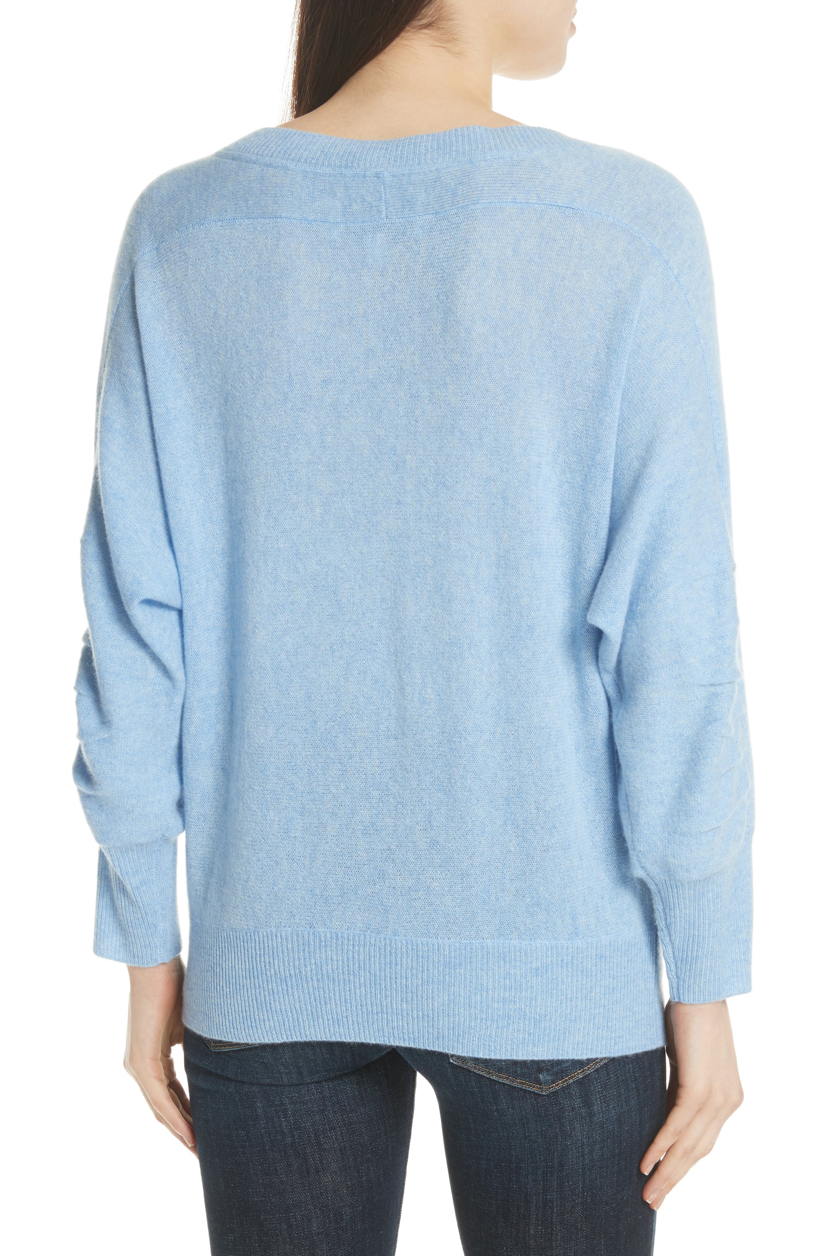 Weller Cashmere Sweater,                             Alternate thumbnail 4, color,