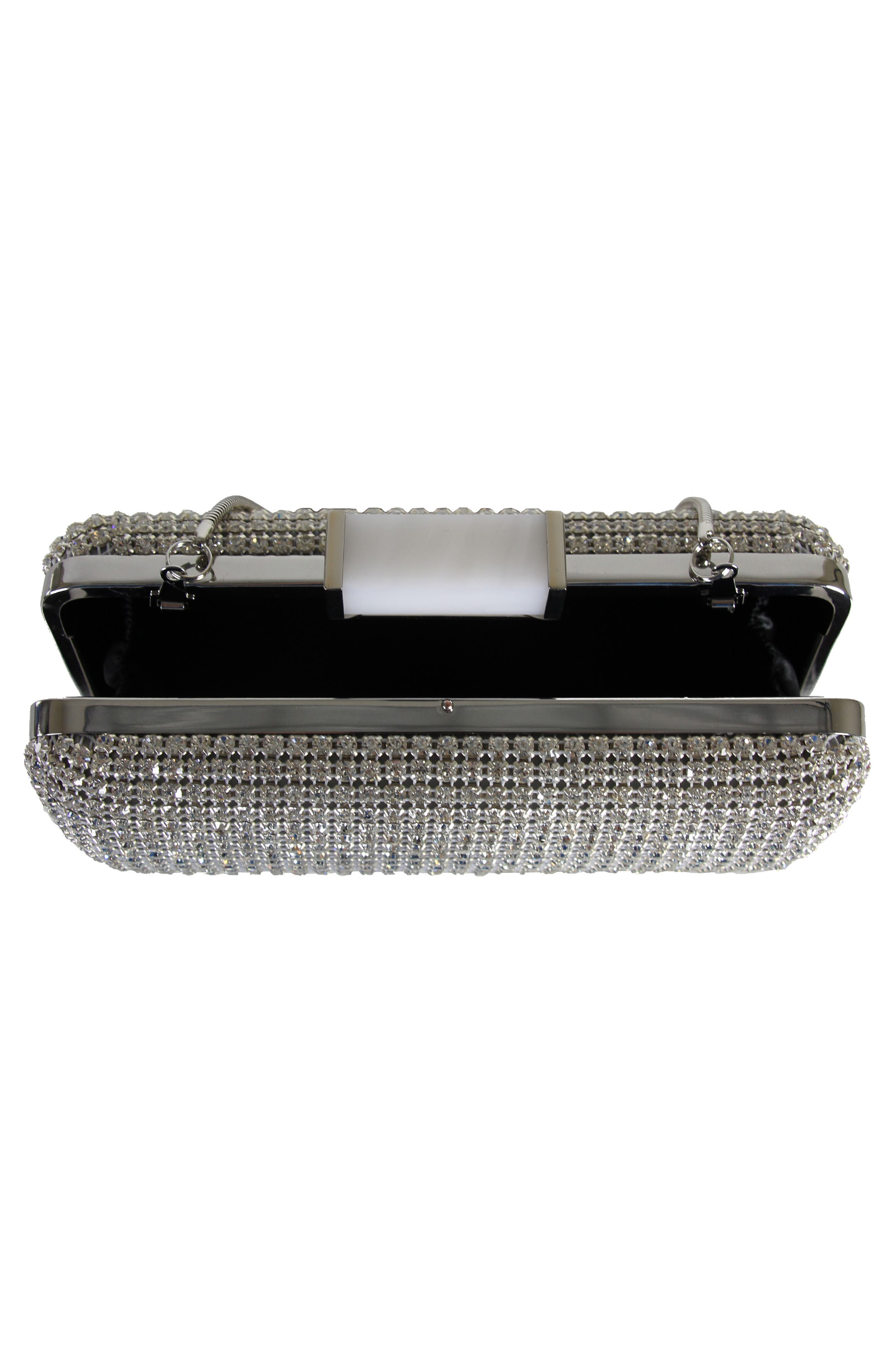 Cusp Embellished Clutch,                             Alternate thumbnail 2, color,                             040