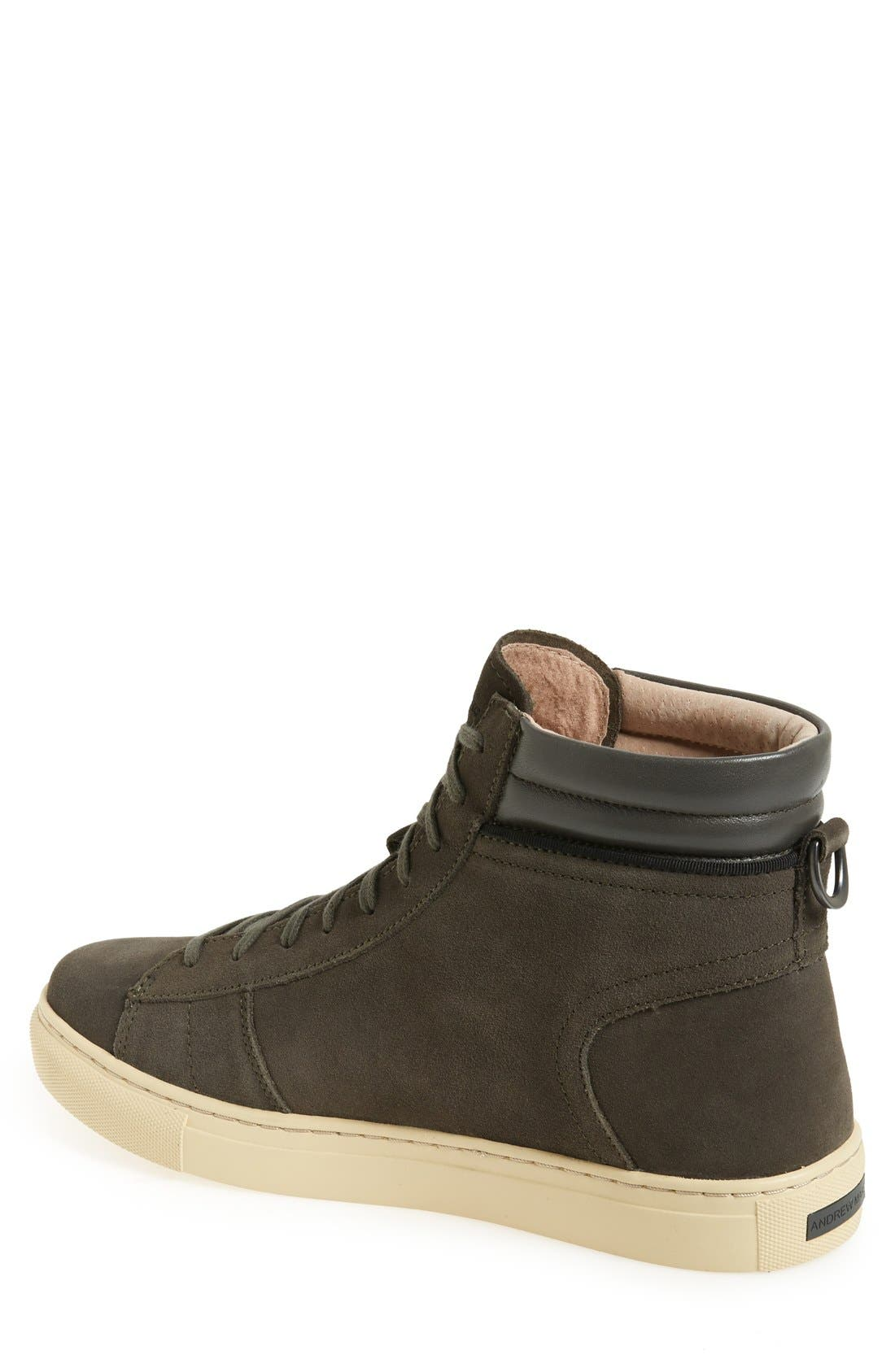 'Remsen' High Top Sneaker,                             Alternate thumbnail 2, color,                             038