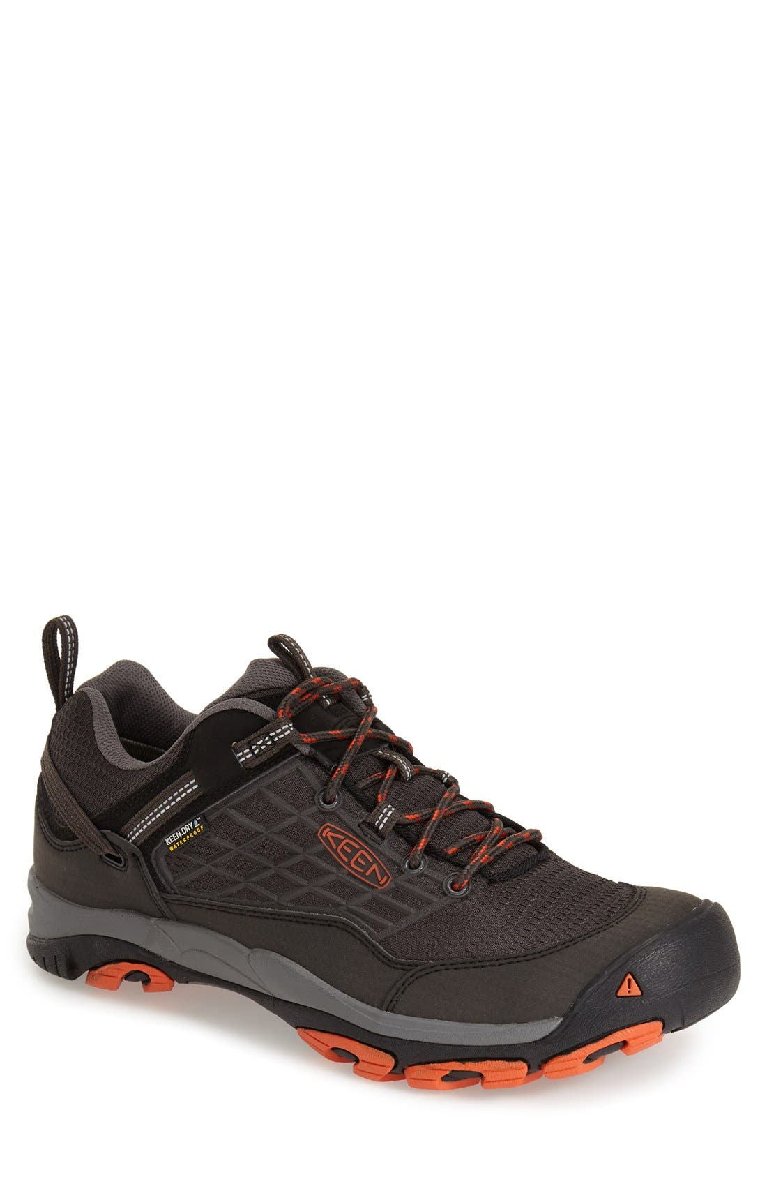 'Saltzman' Waterproof Walking Shoe,                         Main,                         color, RAVEN/ KOI