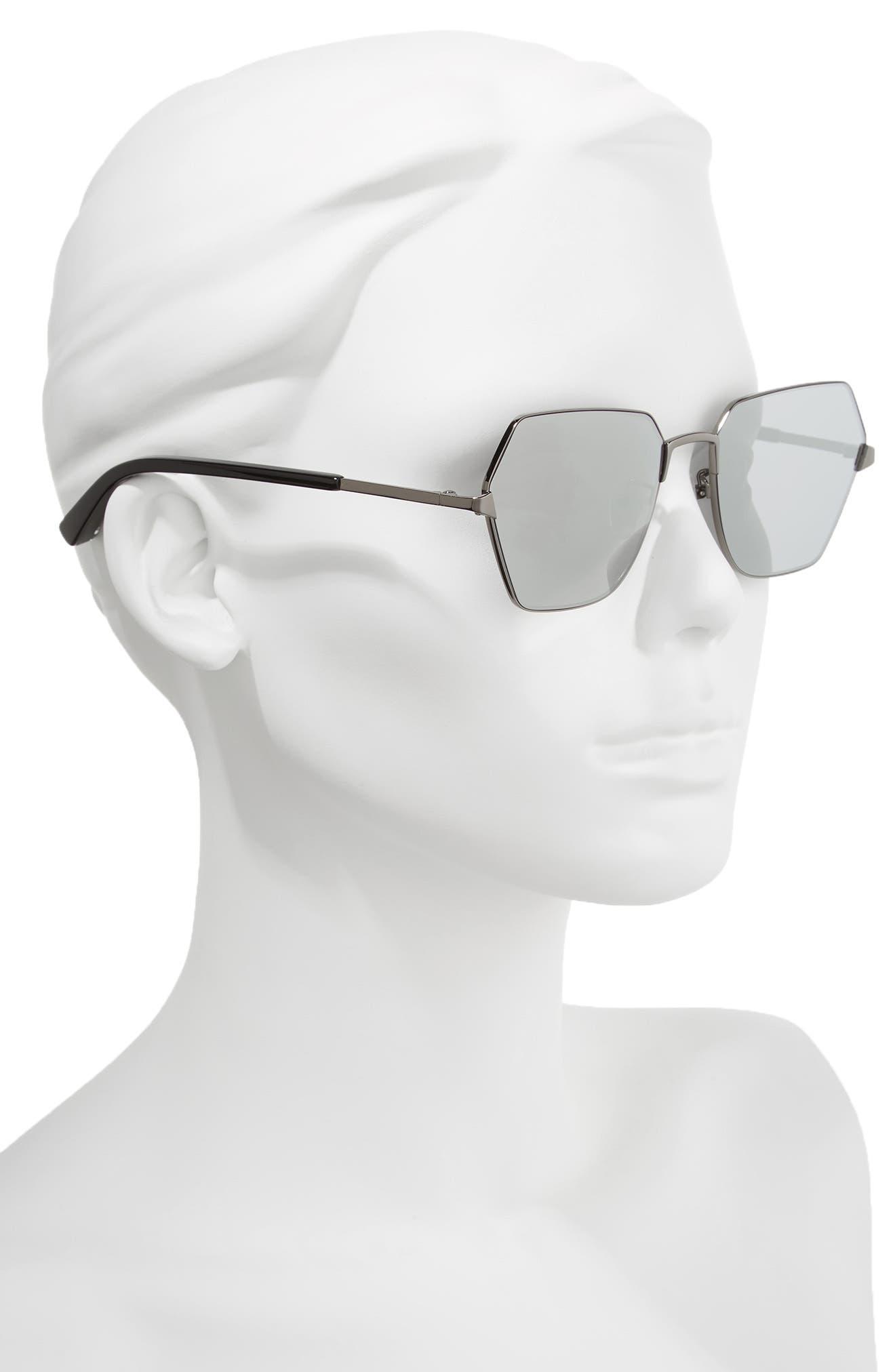 Henly 56mm Sunglasses,                             Alternate thumbnail 2, color,                             001