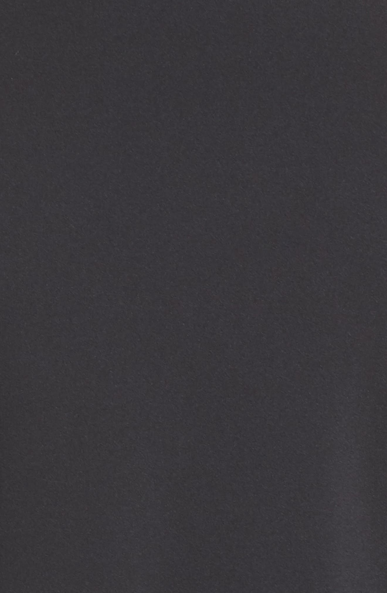 scallop jacket,                             Alternate thumbnail 7, color,                             BLACK