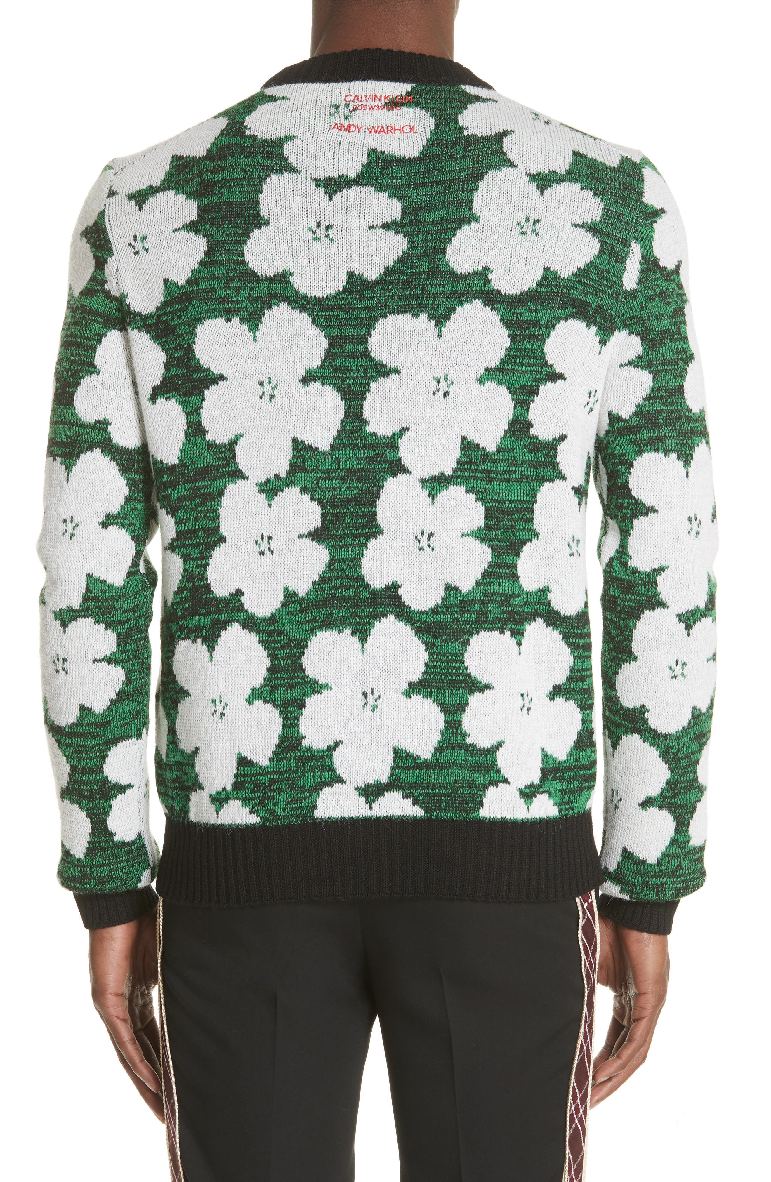 Andy Warhol Flower Sweater,                             Alternate thumbnail 2, color,                             320