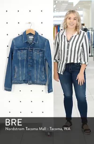 Mid Wash Denim Jacket, sales video thumbnail