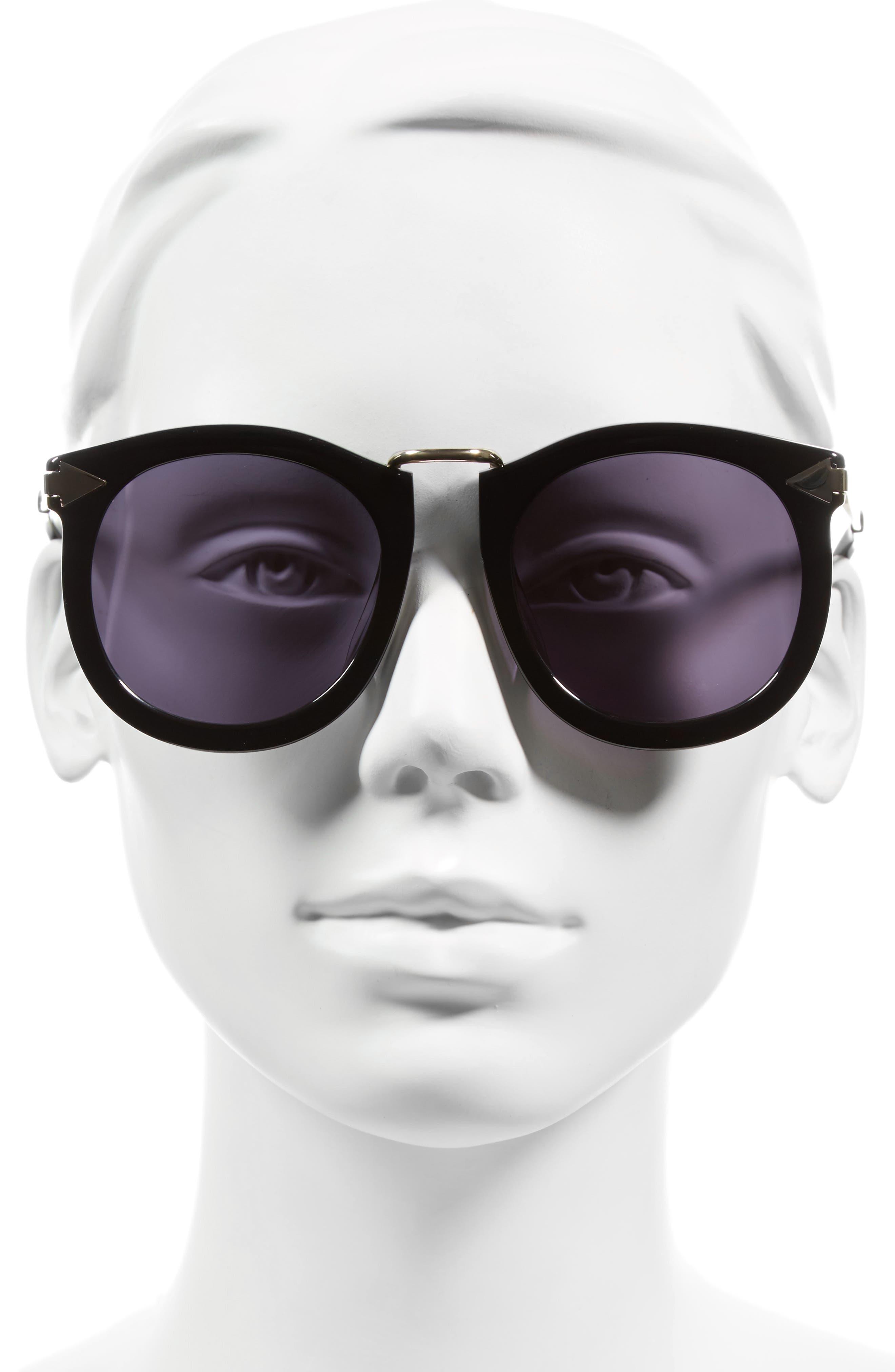 Alternative Fit Super Lunar - Arrowed by Karen 50mm Sunglasses,                             Alternate thumbnail 5, color,