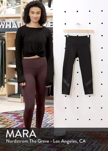 Elevate High Waist Capri Leggings, sales video thumbnail