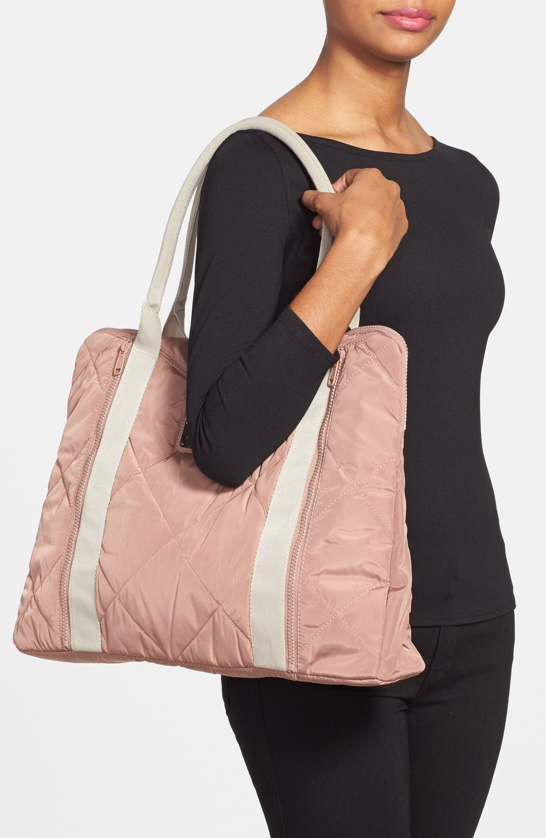 ADIDAS BY STELLA MCCARTNEY,                             Quilted Yoga Bag,                             Alternate thumbnail 2, color,                             250
