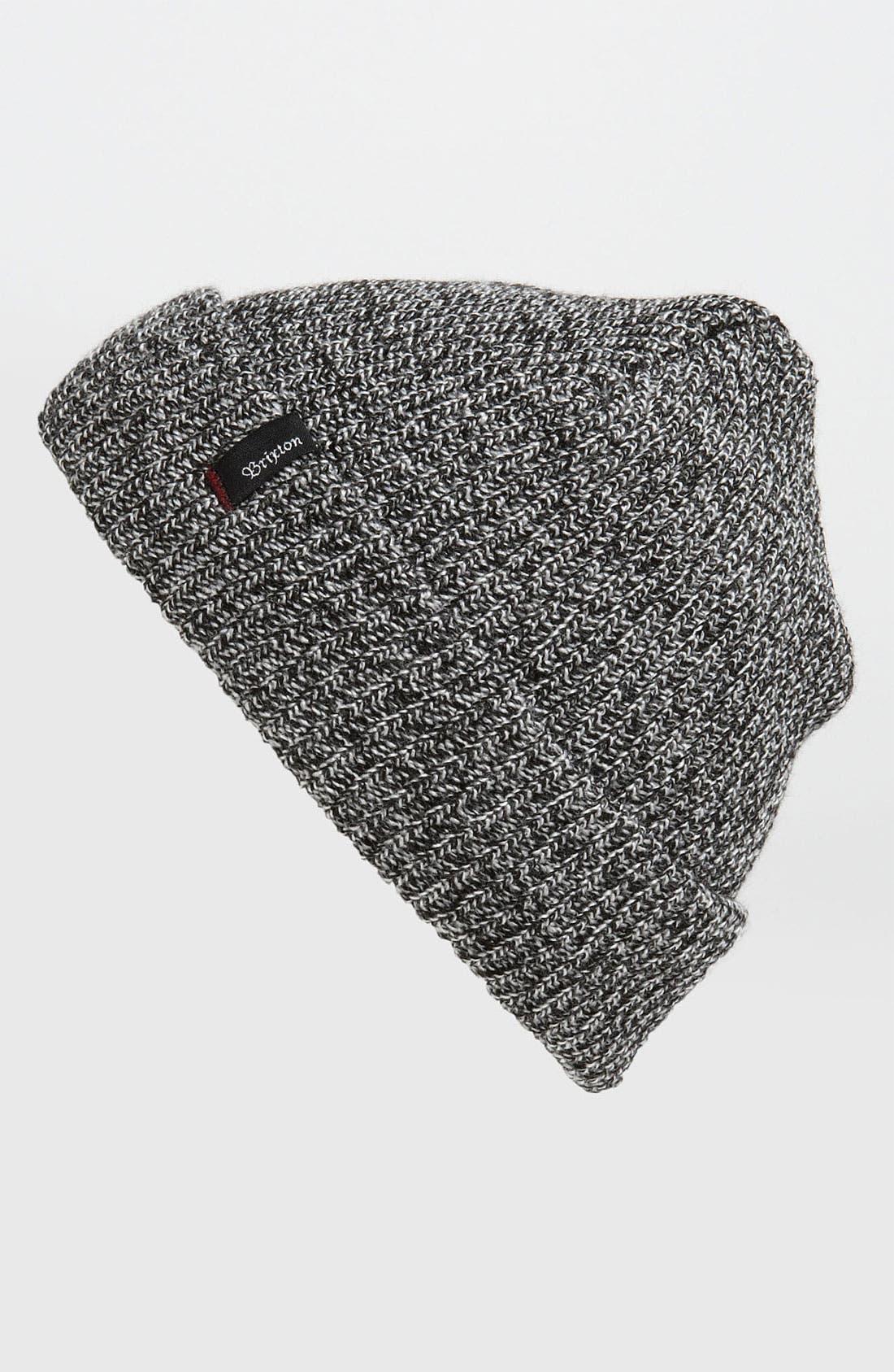 'Heist' Rib Knit Cap,                             Main thumbnail 2, color,