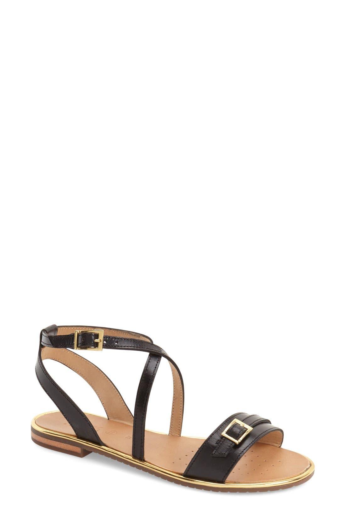 'Sozy' Sandal,                         Main,                         color, 001