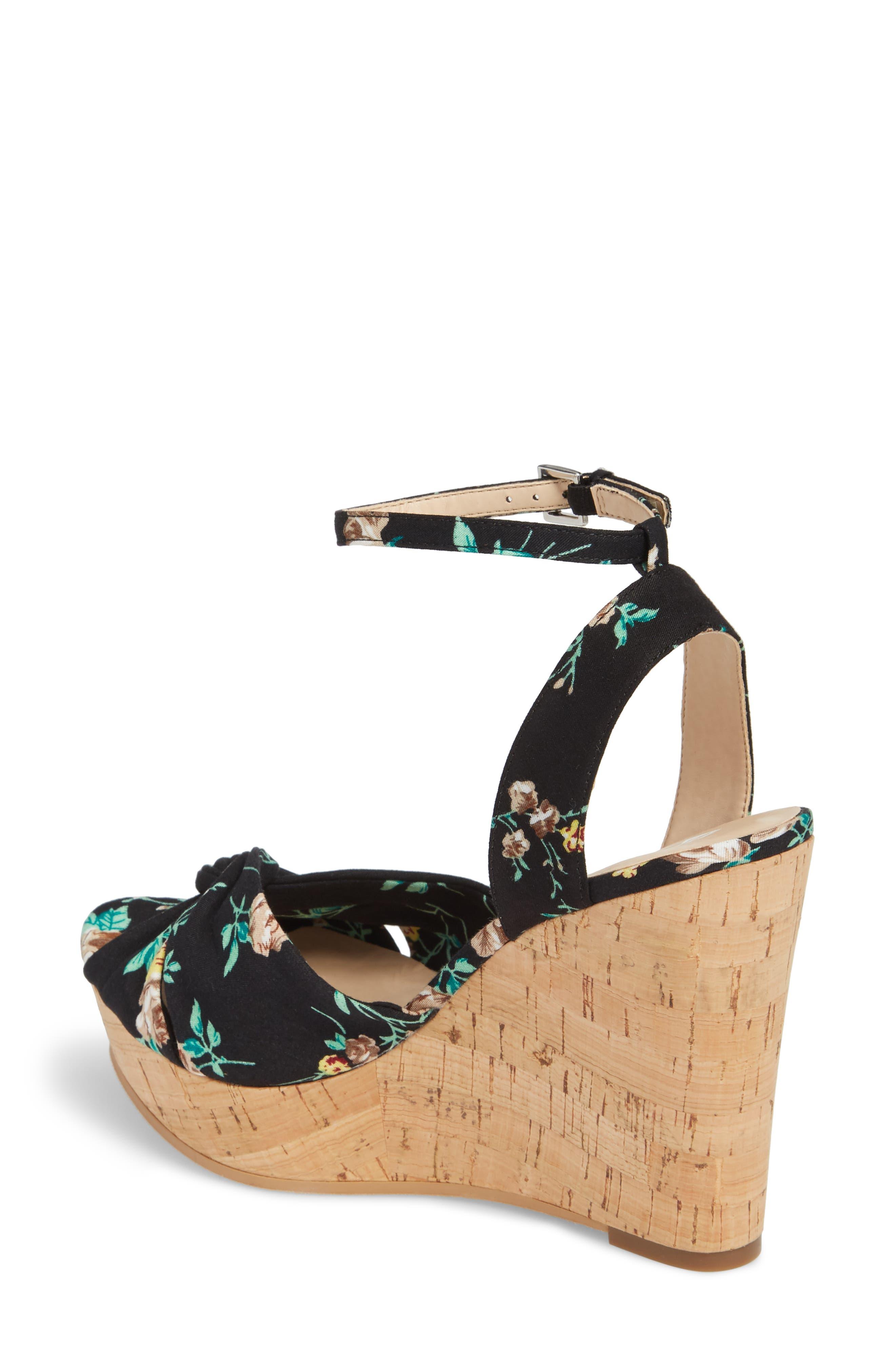 Arya Platform Wedge Sandal,                             Alternate thumbnail 9, color,