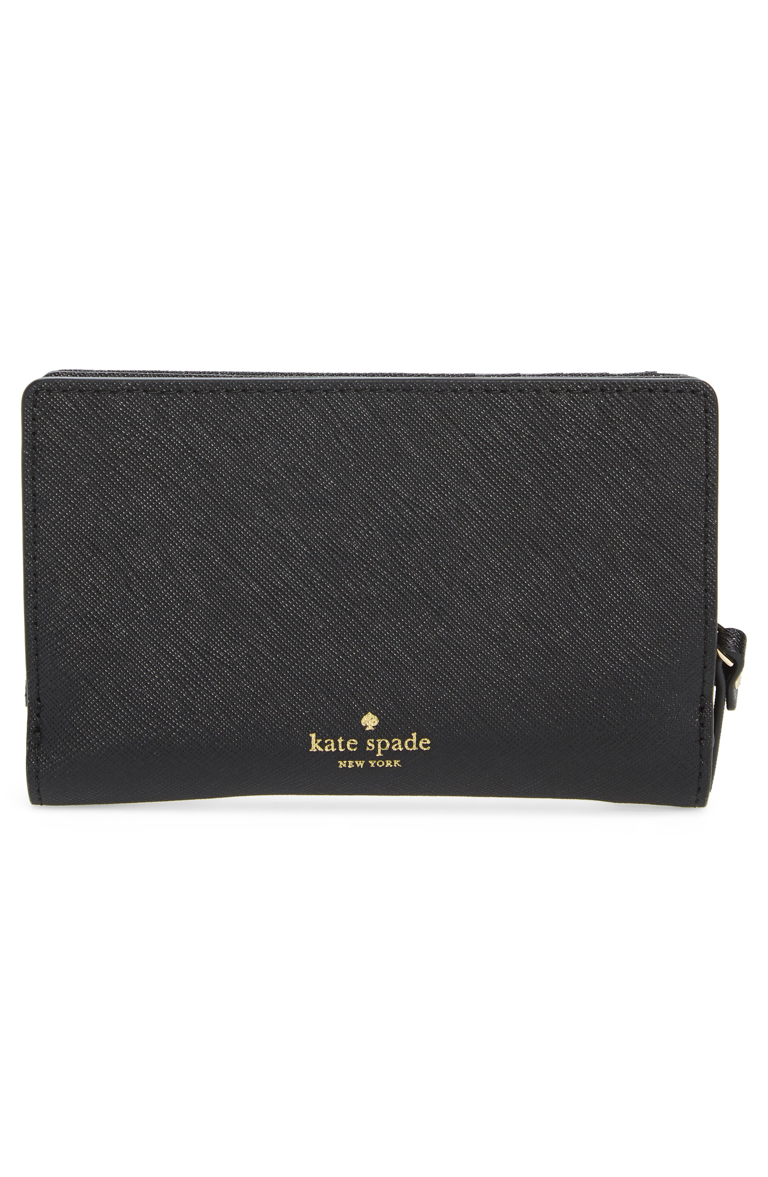 cats meow dara leather wallet,                             Alternate thumbnail 4, color,                             001