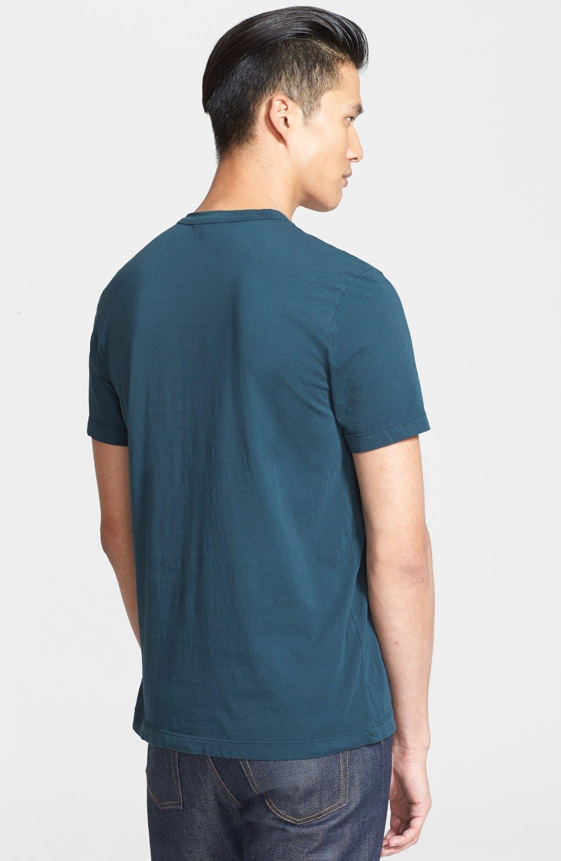 Crewneck Jersey T-Shirt,                             Alternate thumbnail 521, color,