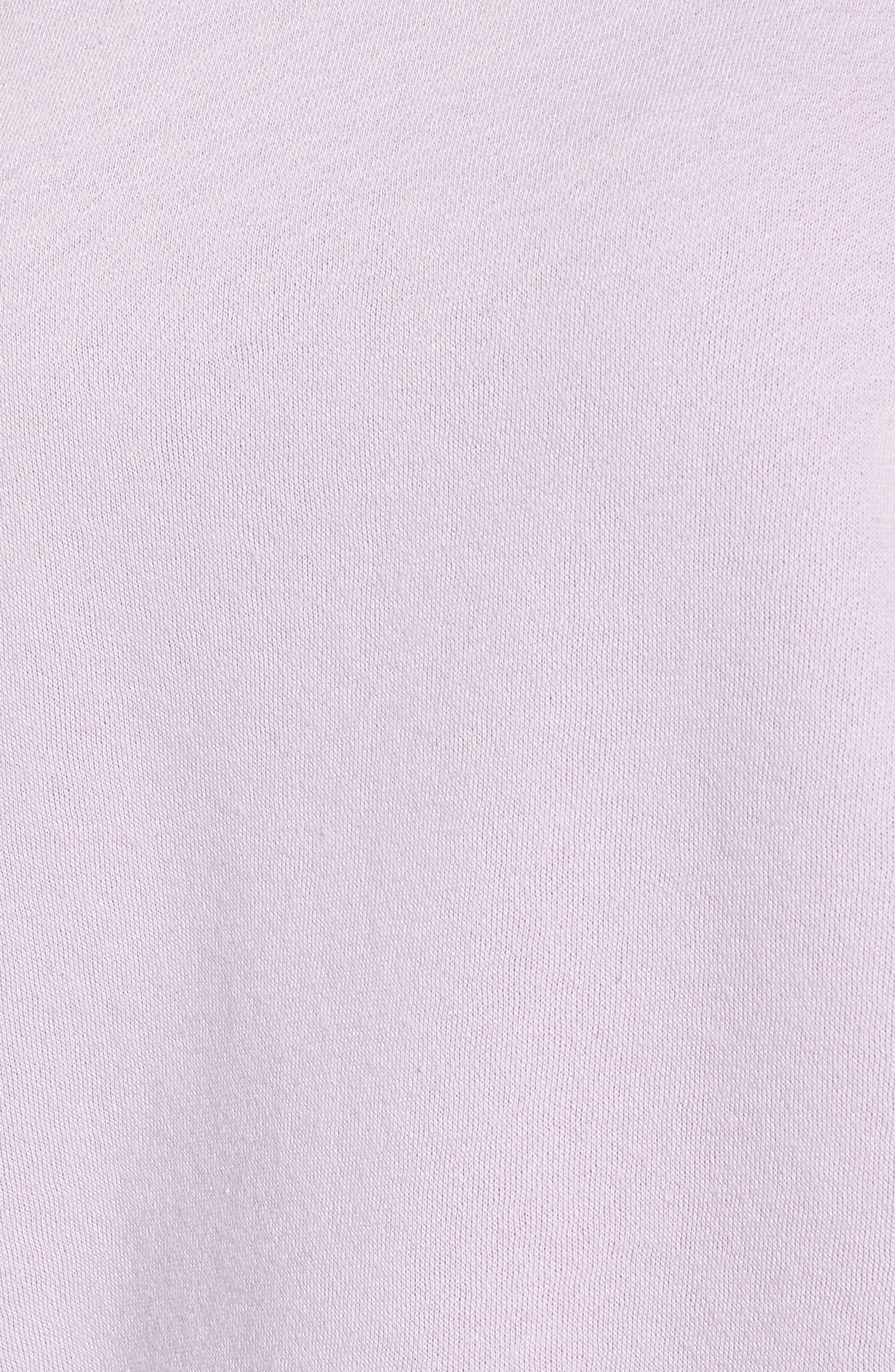 Gracie Cold Shoulder Sweatshirt,                             Alternate thumbnail 6, color,                             502