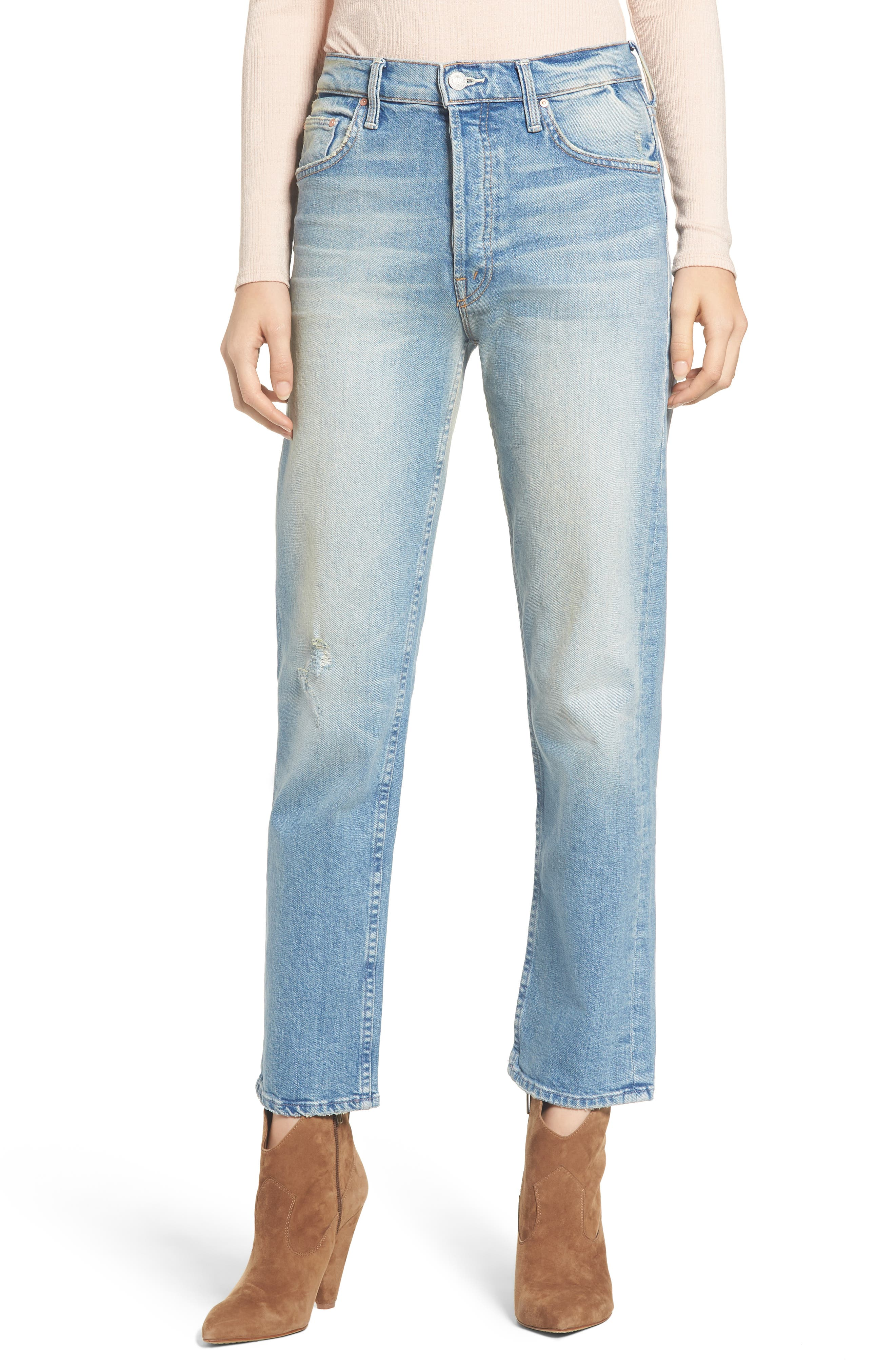 The Tomcat Ankle Straight Leg Jeans,                             Main thumbnail 1, color,                             GOSPEL GRACE