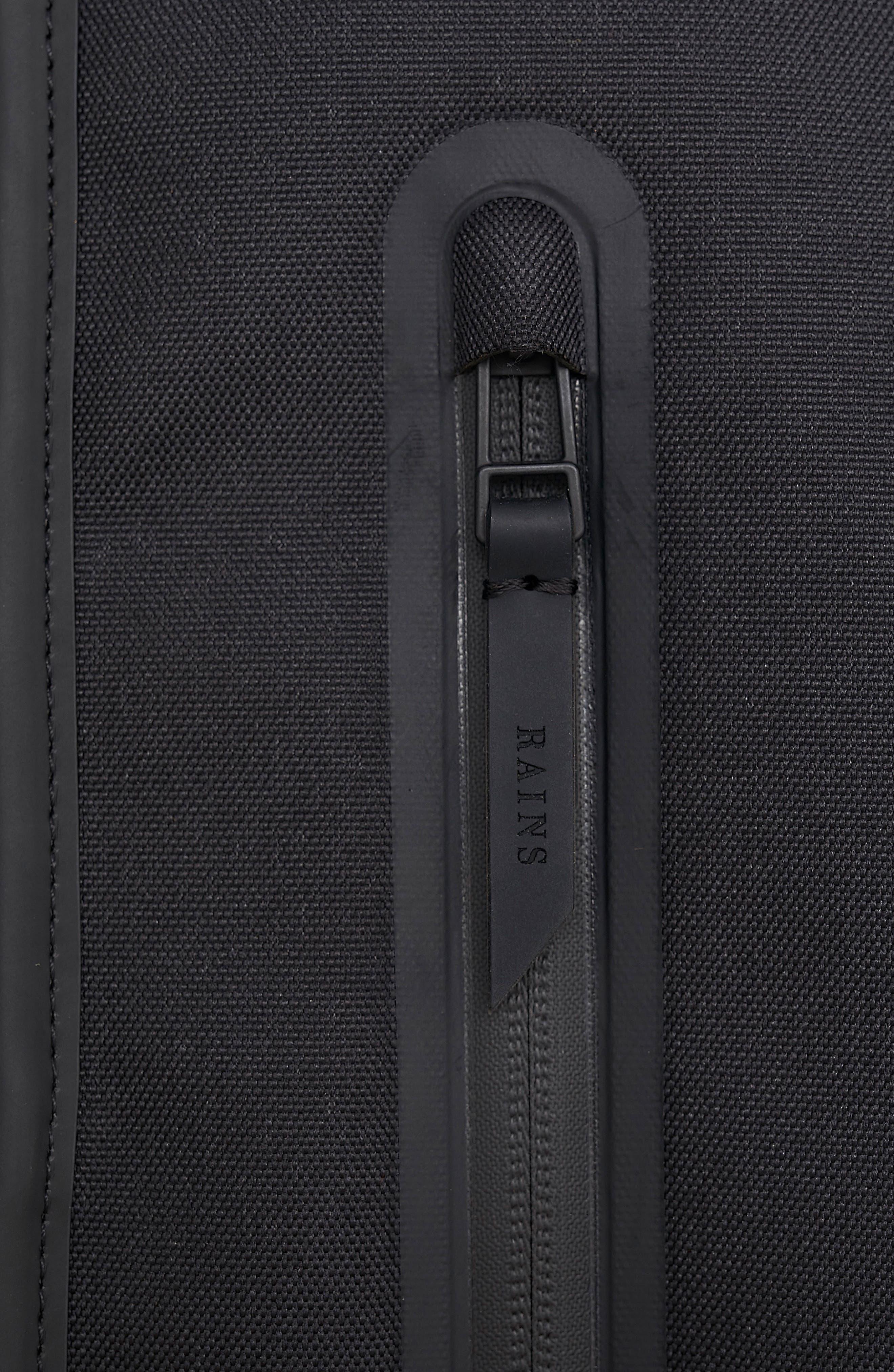 Waterproof Backpack,                             Alternate thumbnail 6, color,                             BLACK/ STONE