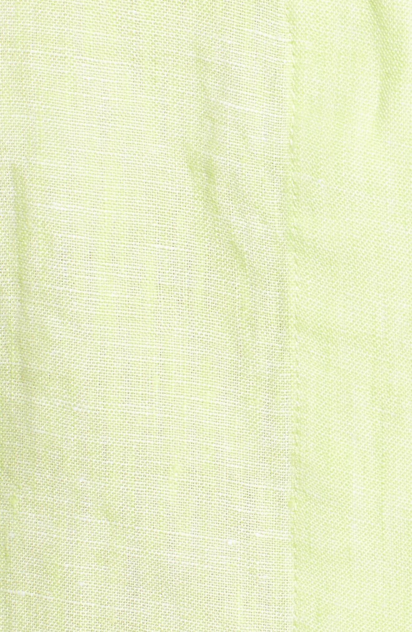 Linen Chambray Shirt,                             Alternate thumbnail 33, color,