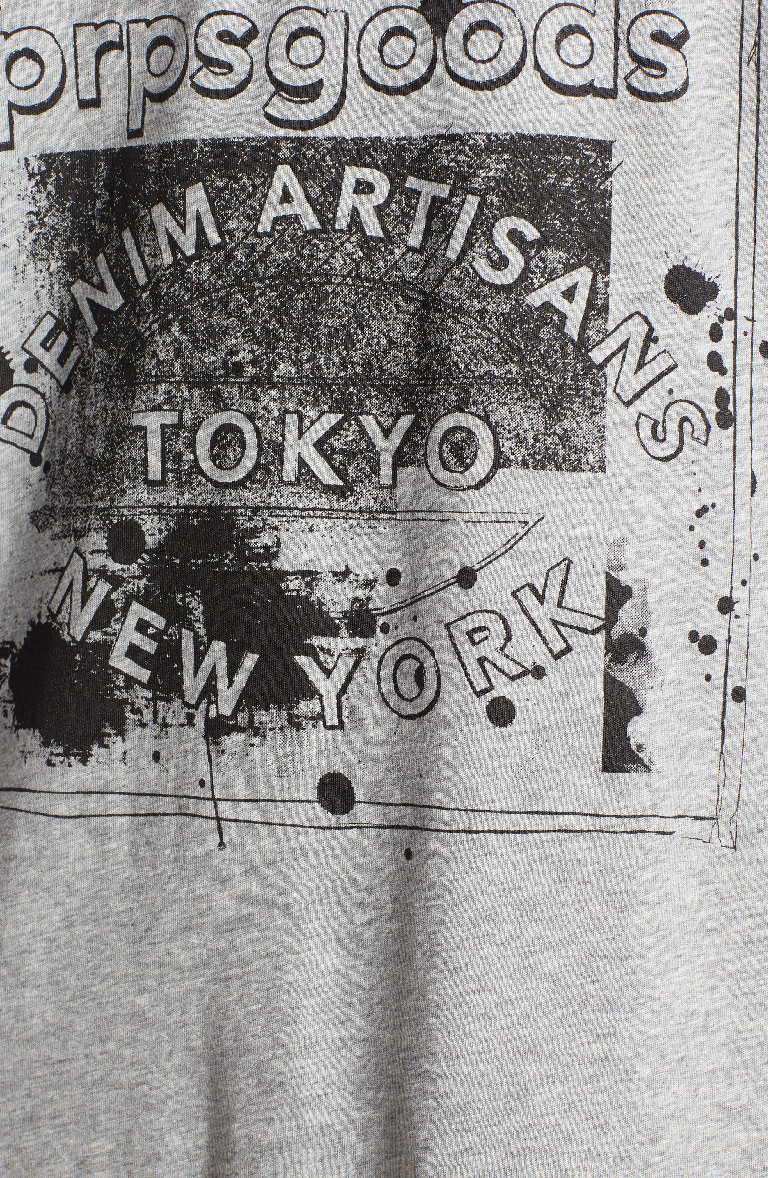 PRPS,                             Logo Graphic T-Shirt,                             Alternate thumbnail 5, color,                             020