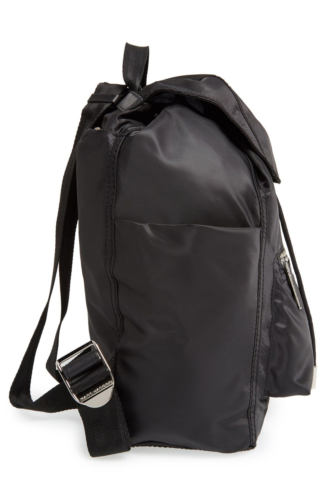 MARC JACOBS,                             'Easy' Backpack,                             Alternate thumbnail 4, color,                             001