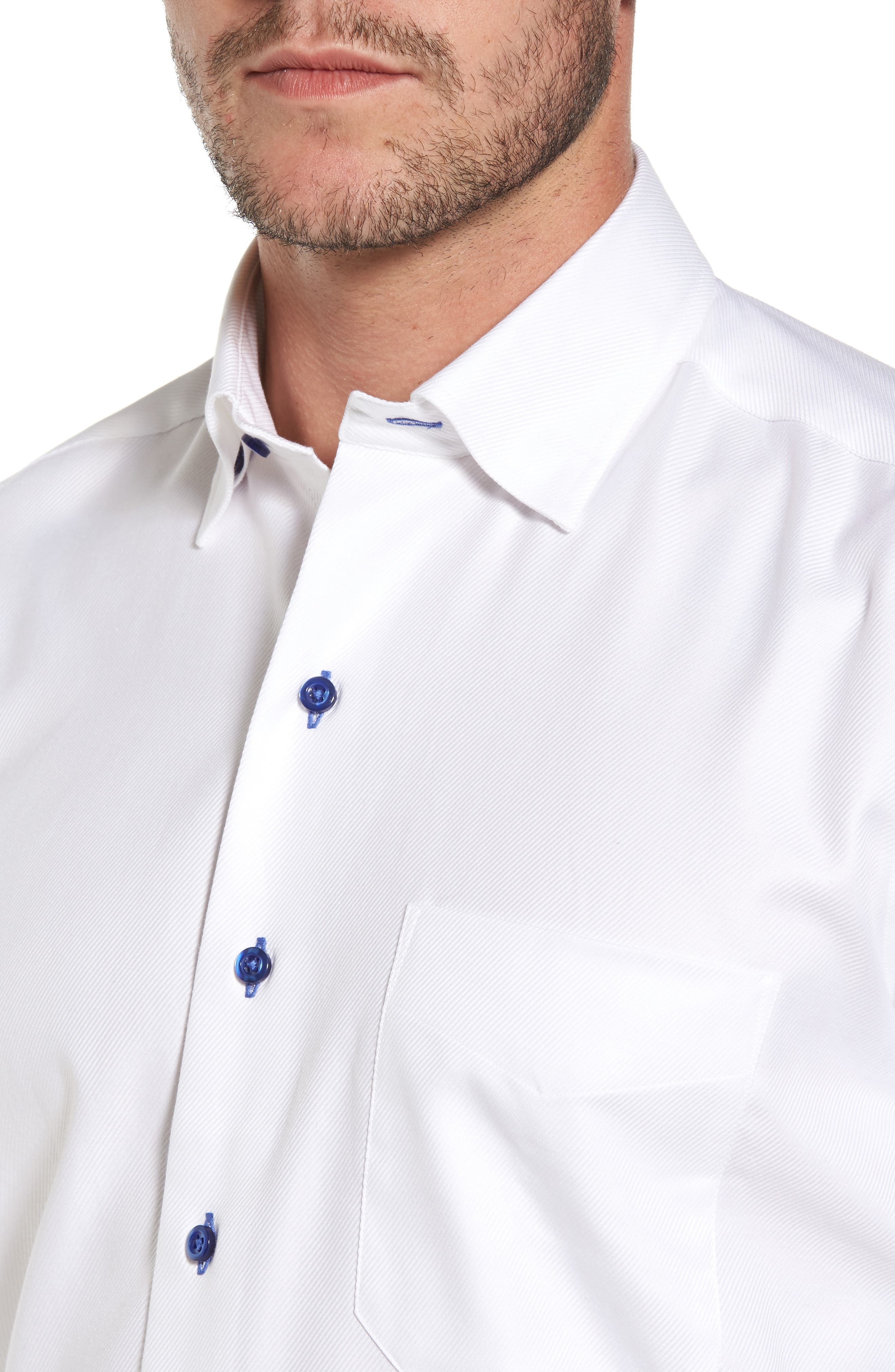 Print Regular Fit Sport Shirt,                             Alternate thumbnail 4, color,                             110
