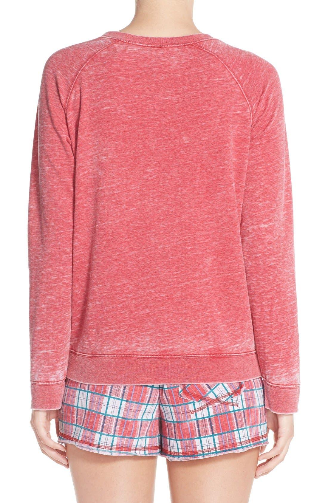 Burnout Lounge Sweatshirt,                             Alternate thumbnail 181, color,