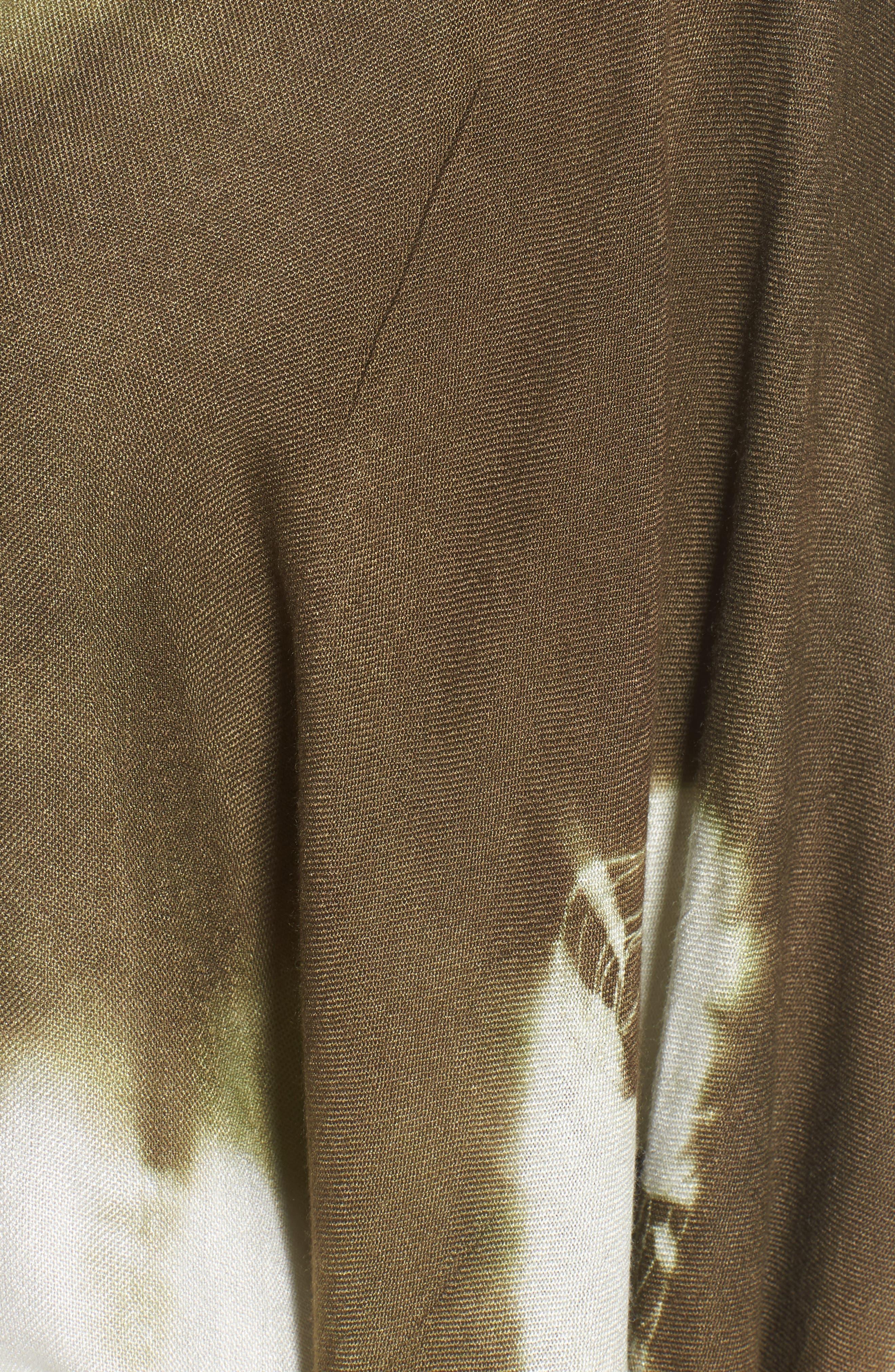 Spellbound Tie Dye Kimono Duster,                             Alternate thumbnail 14, color,