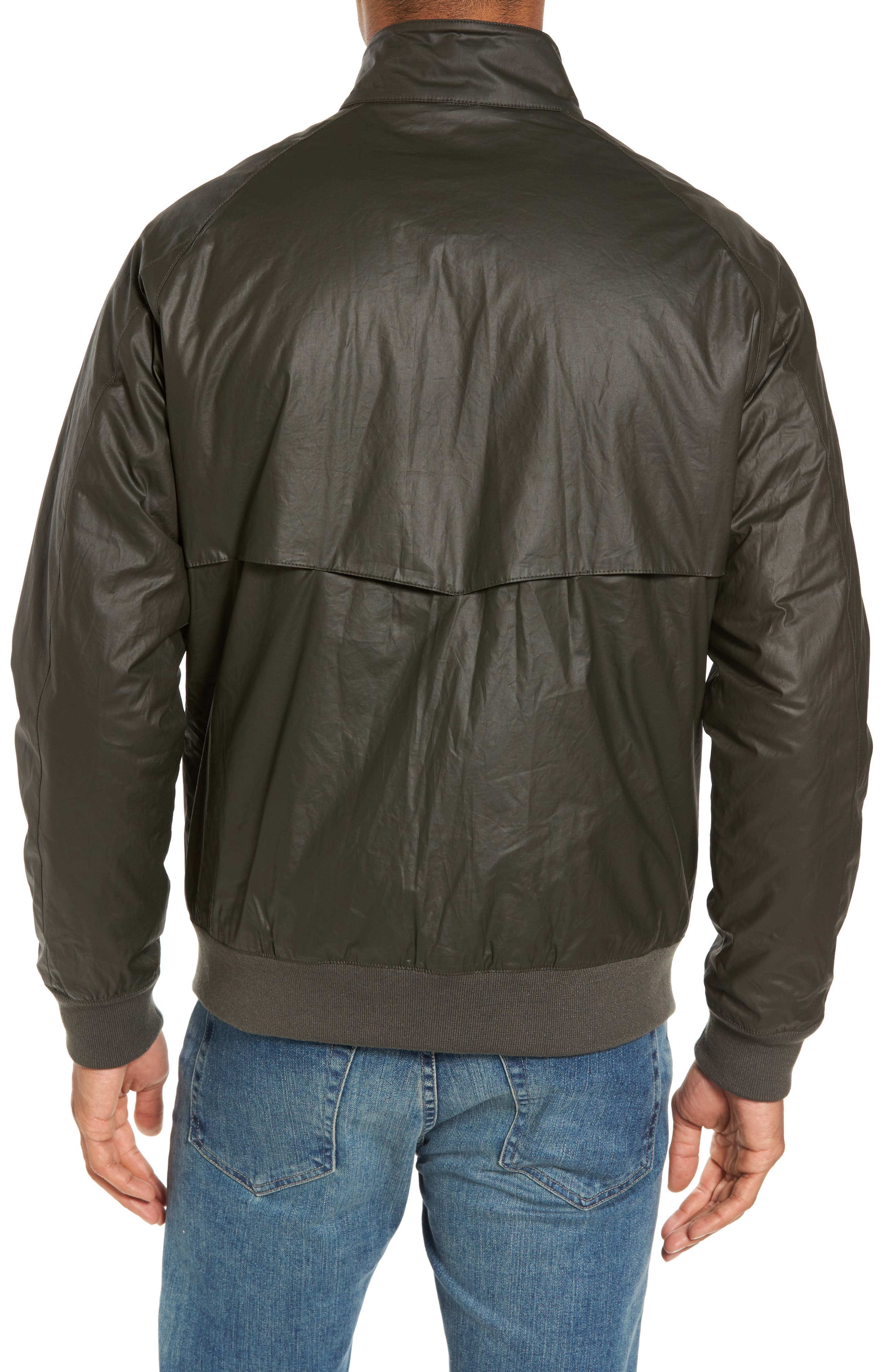 Insulated Harrington Jacket,                             Alternate thumbnail 4, color,