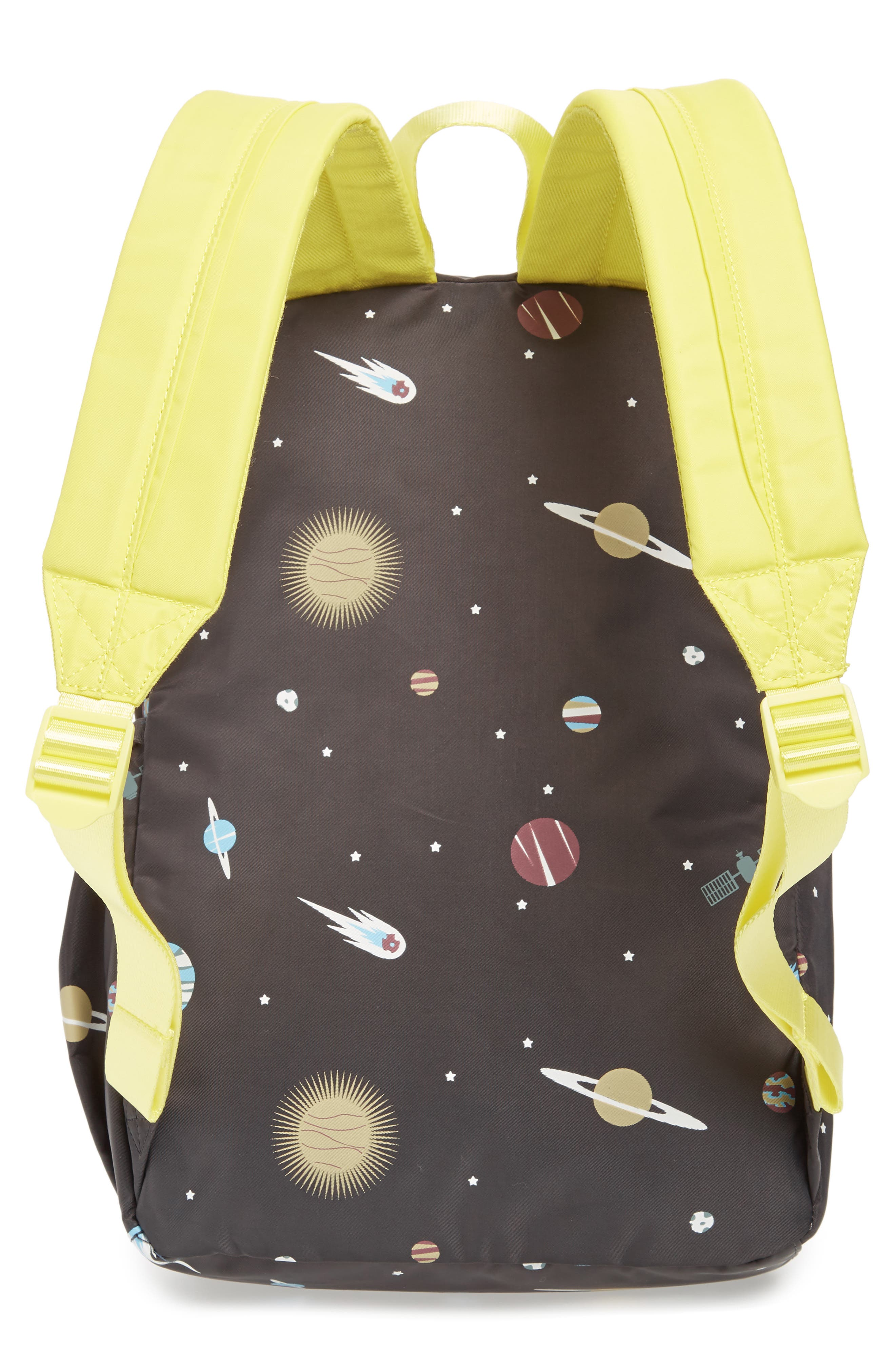 Glow in the Dark Space Print Backpack,                             Alternate thumbnail 2, color,
