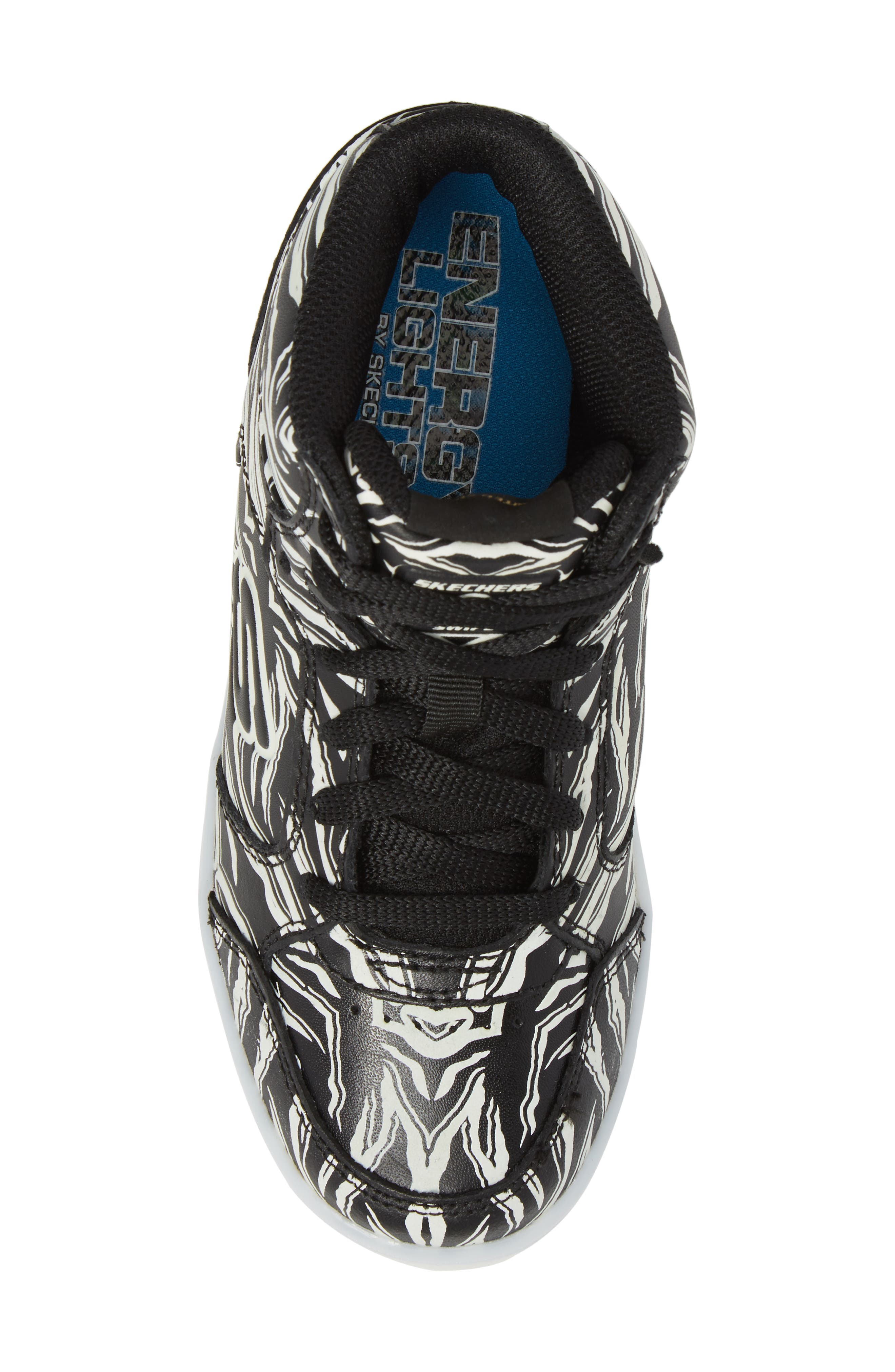 Energy Lights Glow in the Dark Sneaker,                             Alternate thumbnail 5, color,                             017