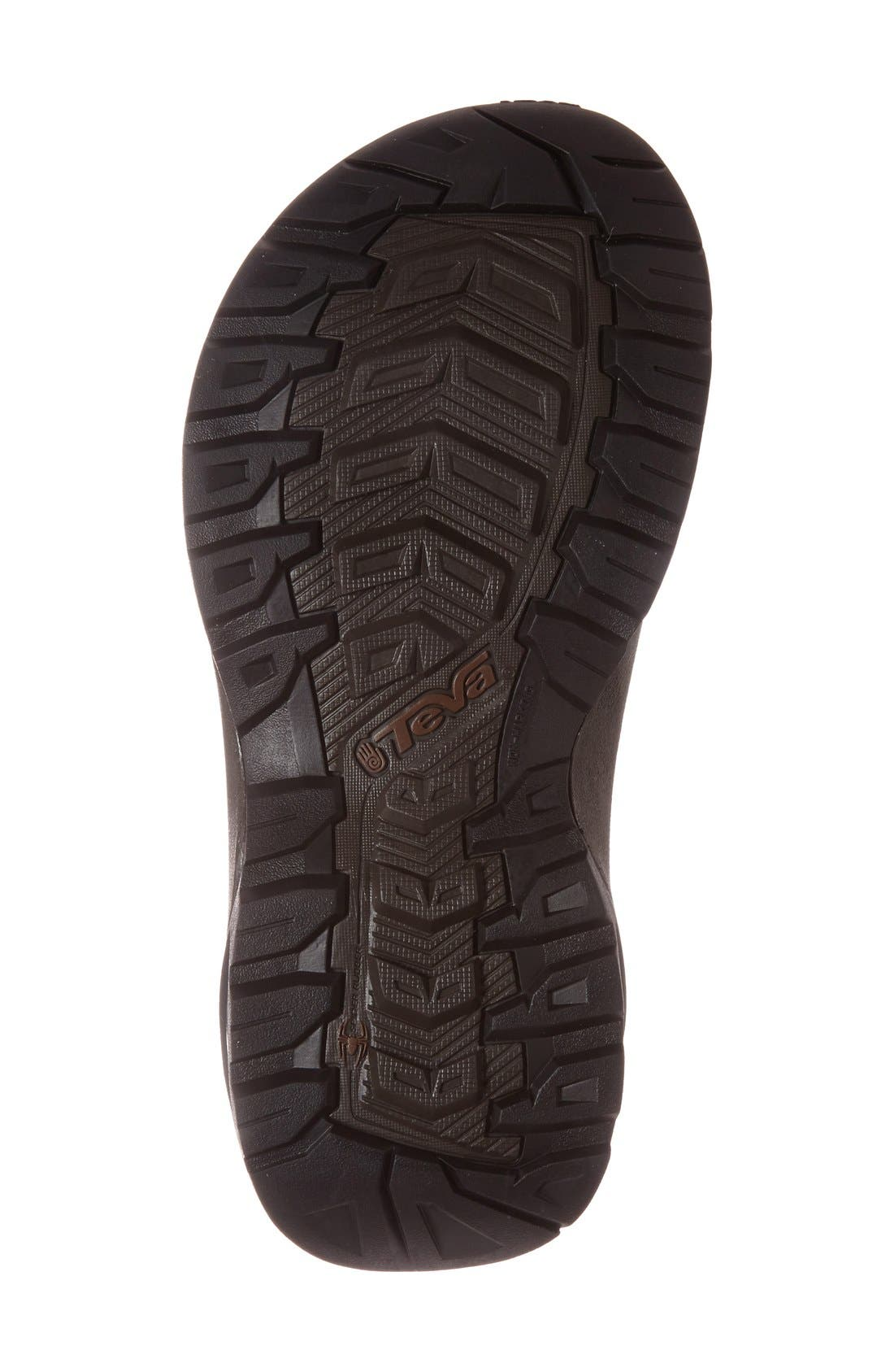 TEVA,                             'Terra Fi 4' Sport Sandal,                             Alternate thumbnail 4, color,                             TURKISH COFFEE