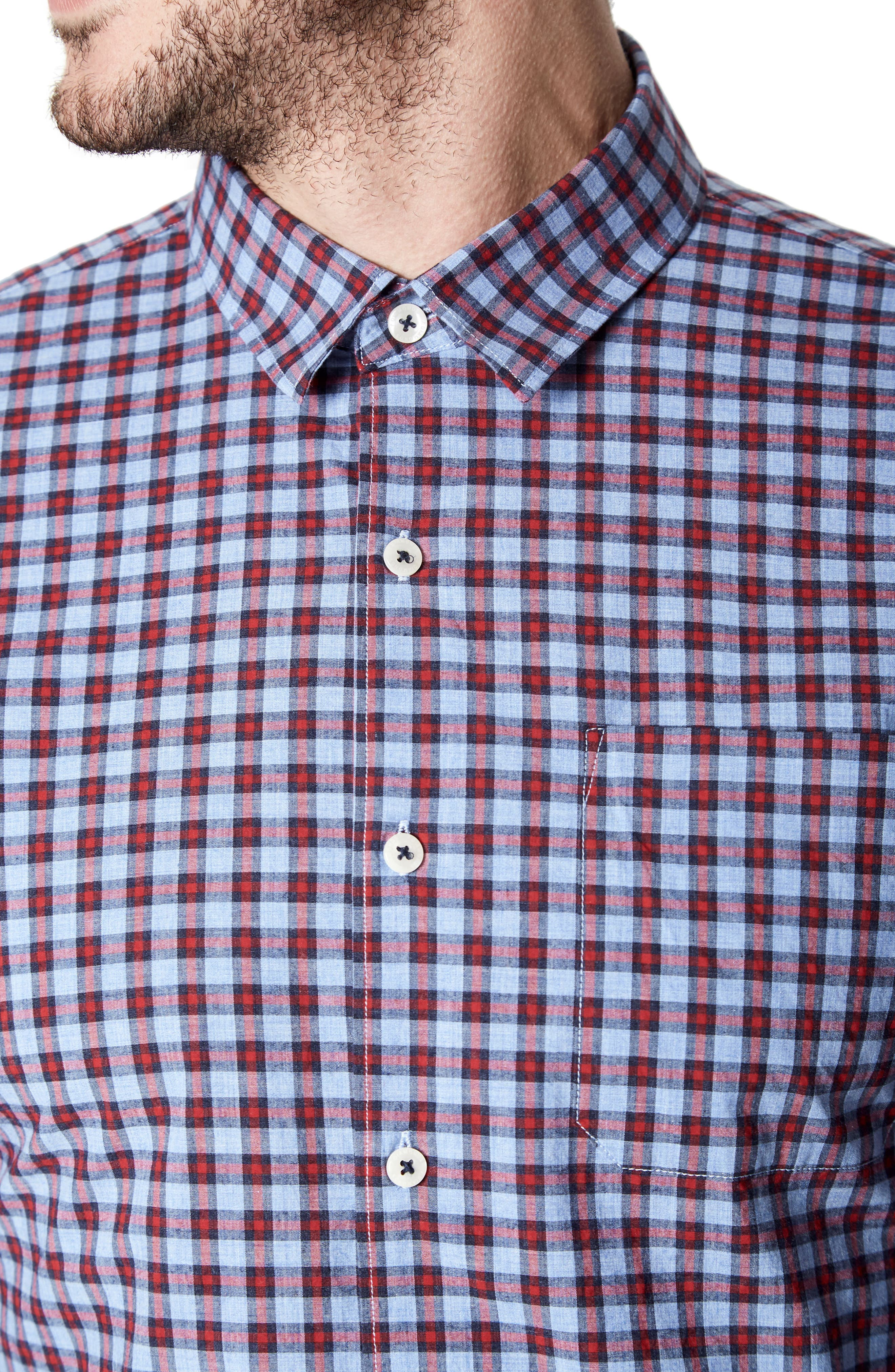 Red Moon Woven Shirt,                             Alternate thumbnail 4, color,                             600
