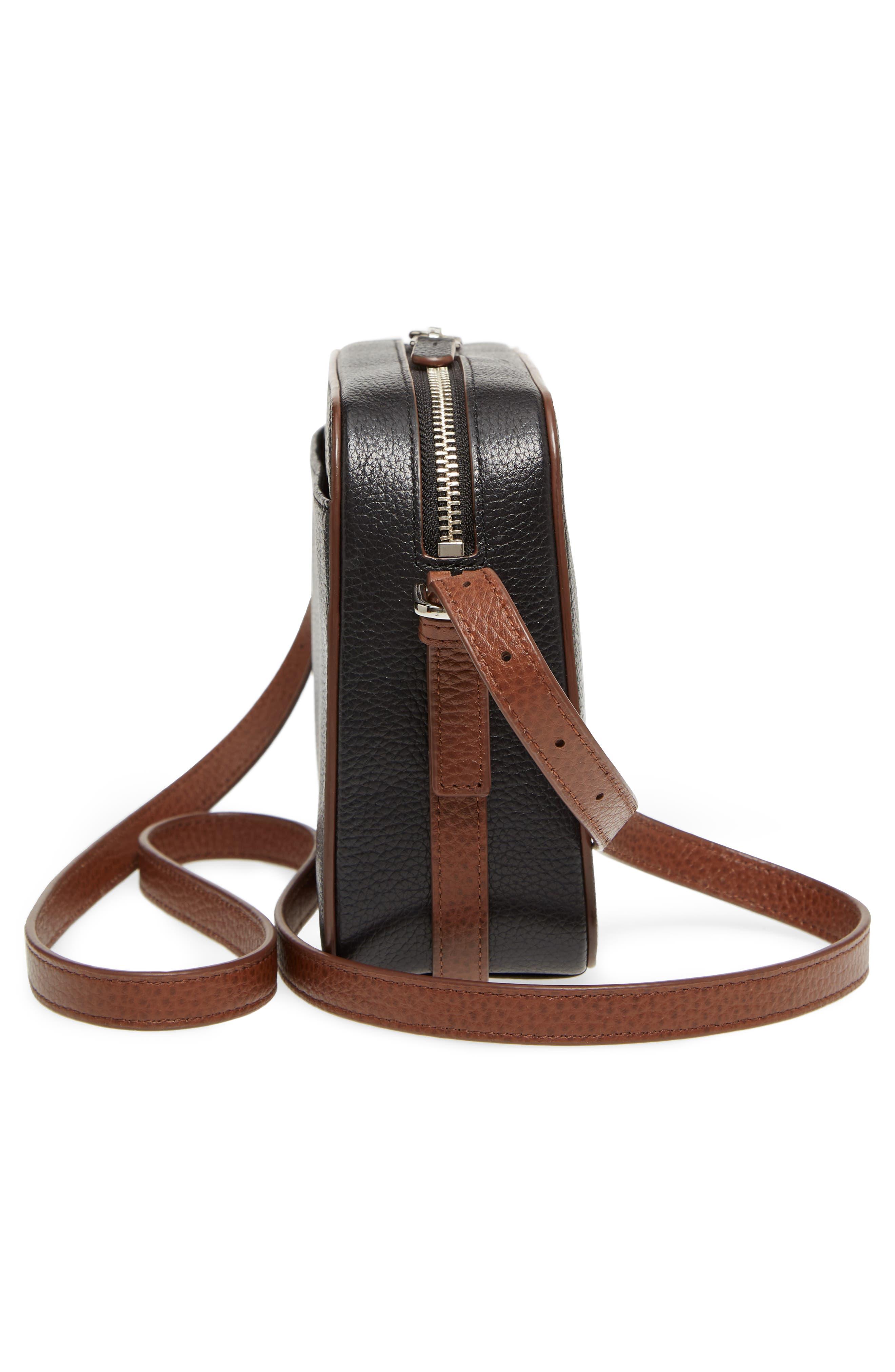 Brayden Leather Crossbody Camera Bag,                             Alternate thumbnail 22, color,